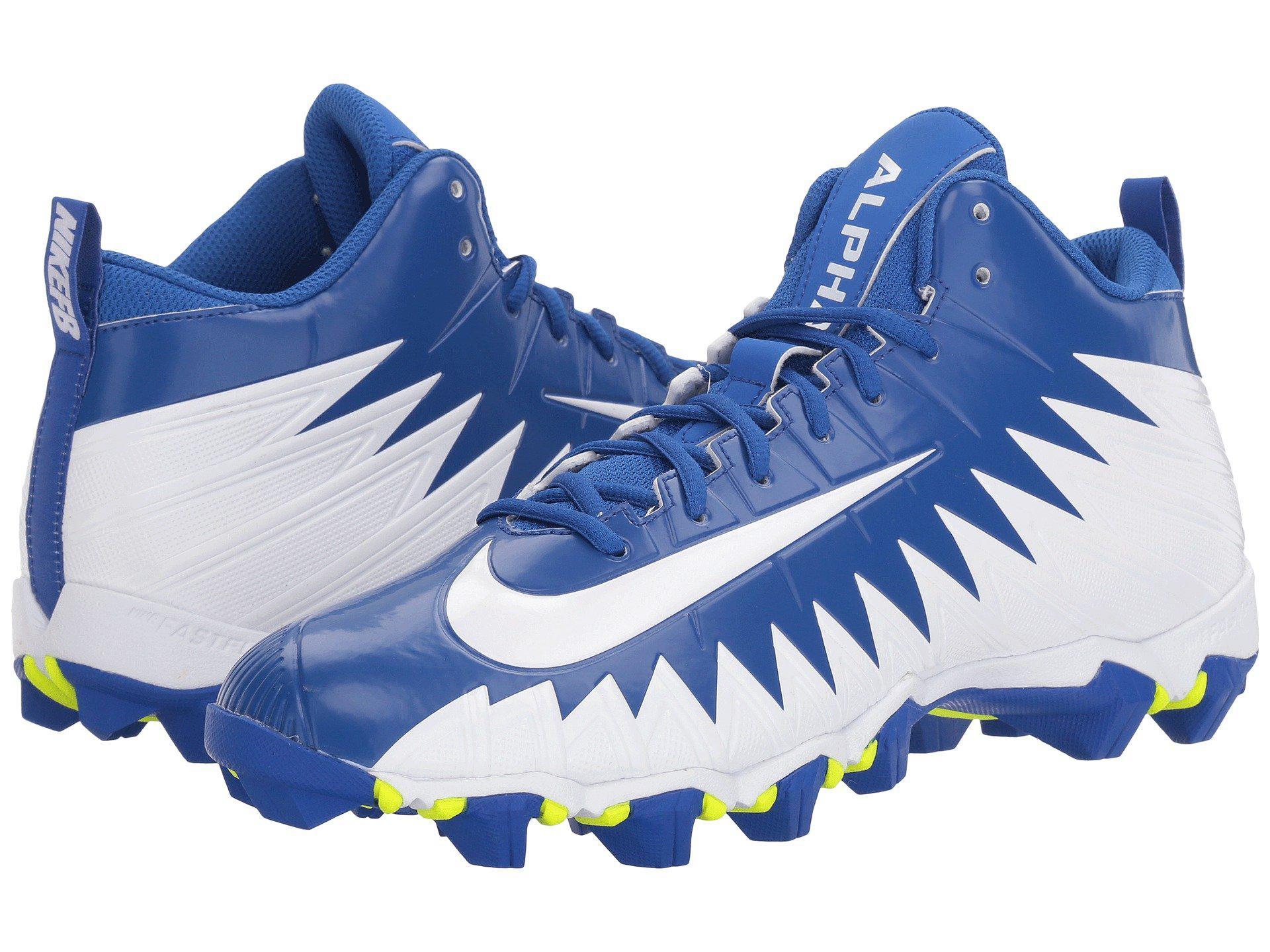 new style 4c130 c4f45 Lyst - Nike Alpha Menace Shark in Blue for Men