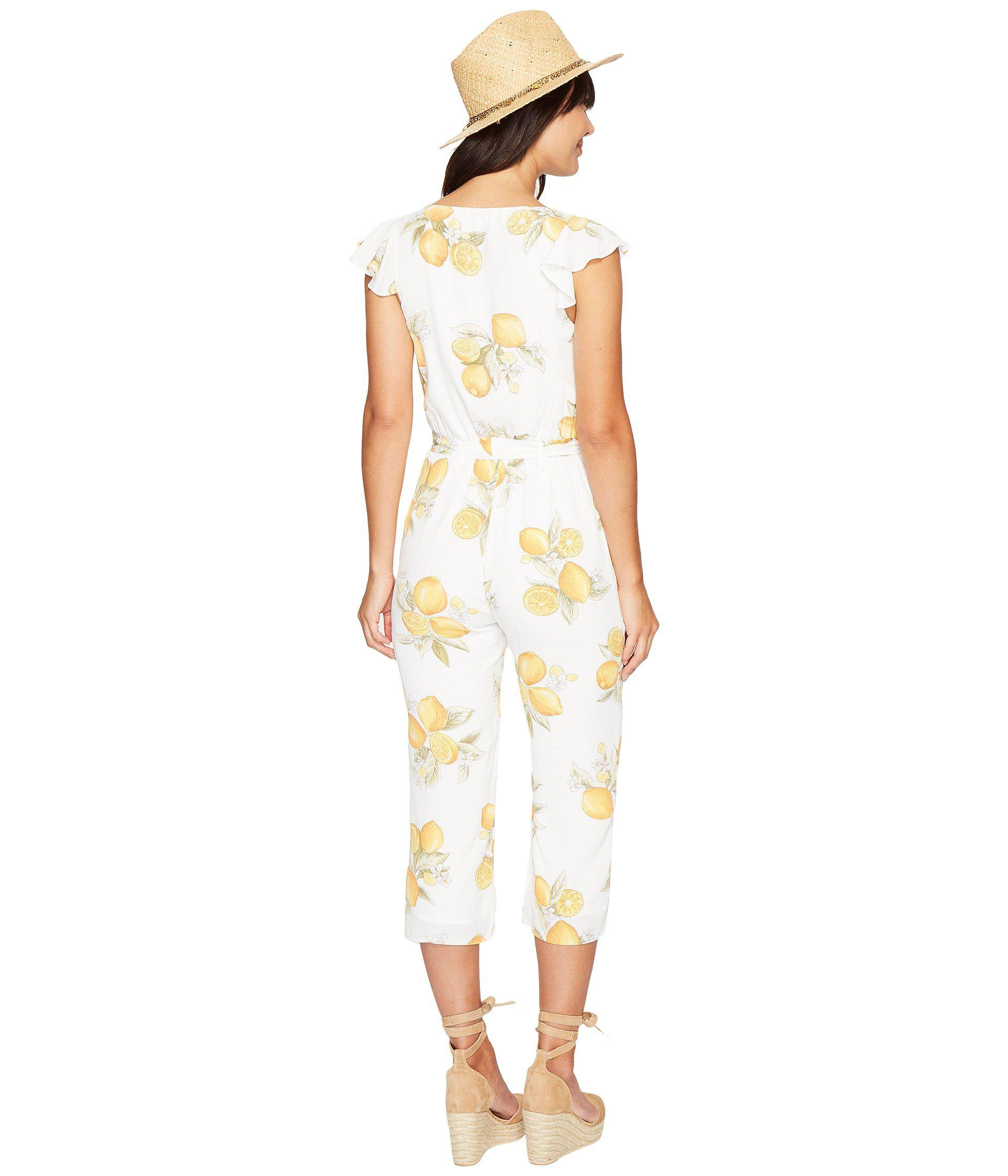 Lyst For Love Lemons Limonada One Piece In Yellow