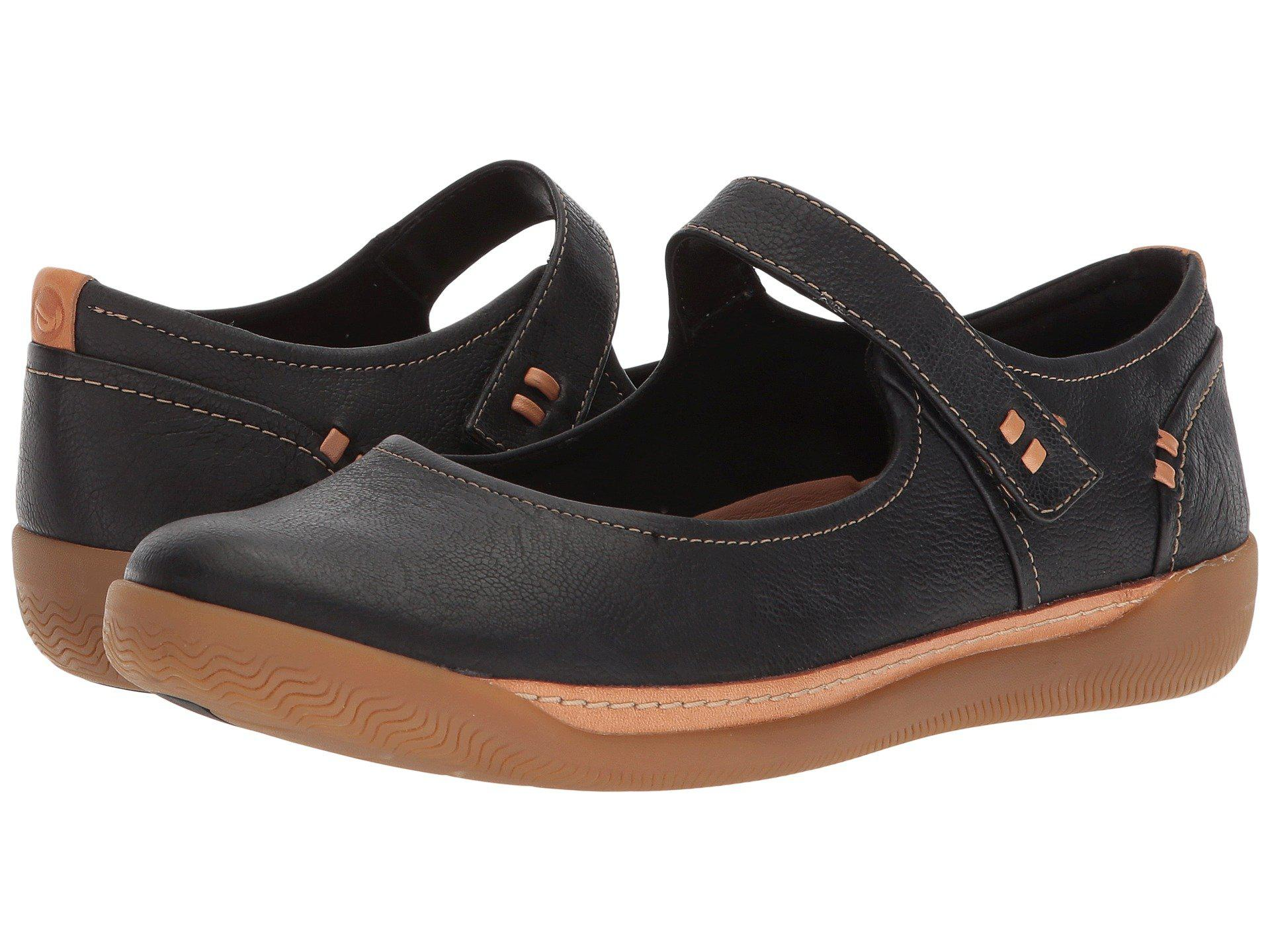 be868f7c Lyst - Clarks Un Haven Strap in Black