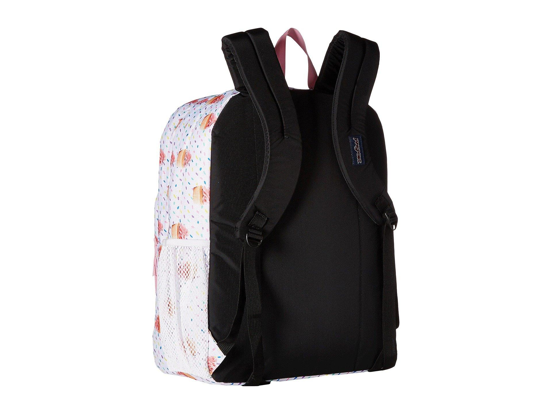 Coral Peaches Wild at Heart with Black Accents JanSport Big Student Classics Series Backpack