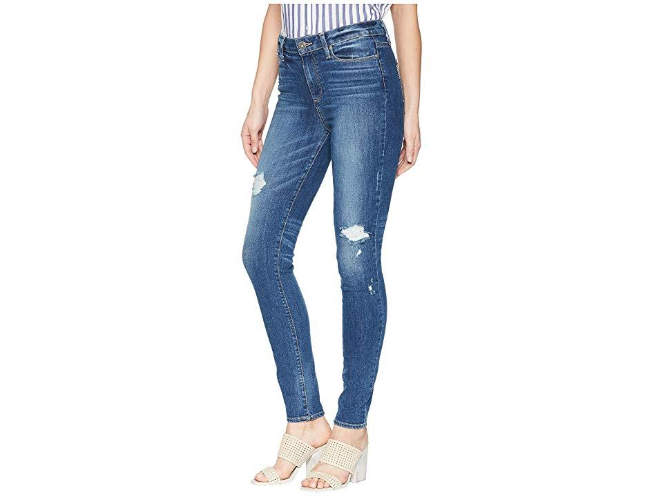 36e3b46c8c PAIGE Hoxton Ultra Skinny In Cliff's Edge Destructed (cliff's Edge ...