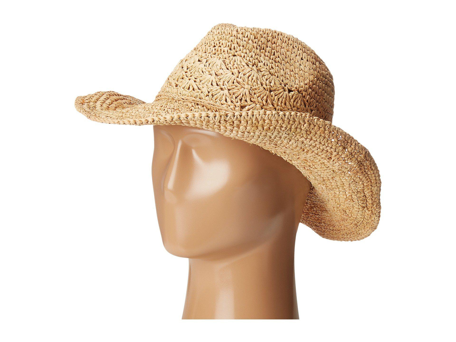 5fcc37389fc4d Lyst - Roxy Cantina Fedora Hat in Natural