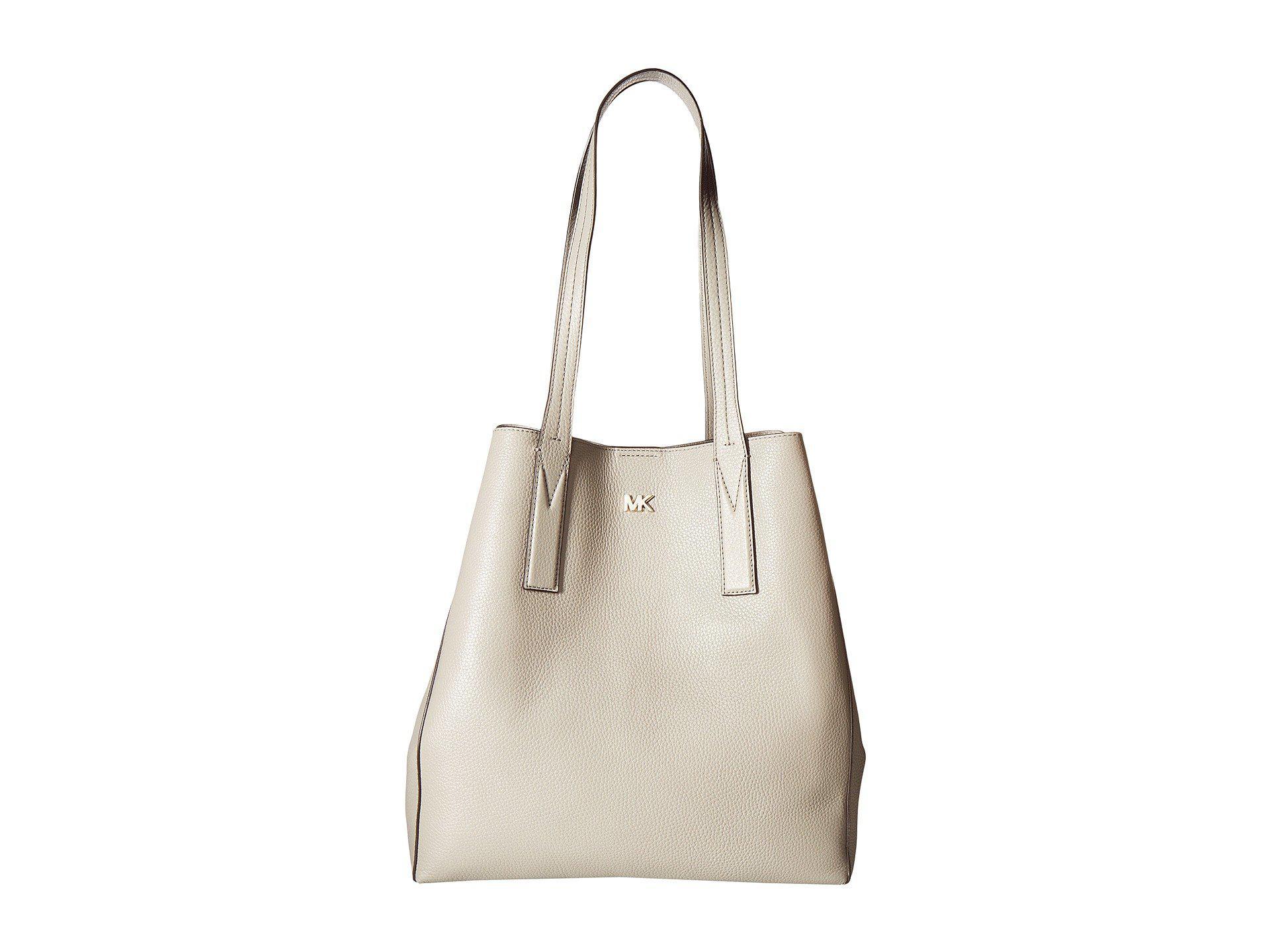 64e4f65822eba9 MICHAEL Michael Kors - Gray Junie Large Tote (pearl Grey) Tote Handbags -  Lyst. View fullscreen