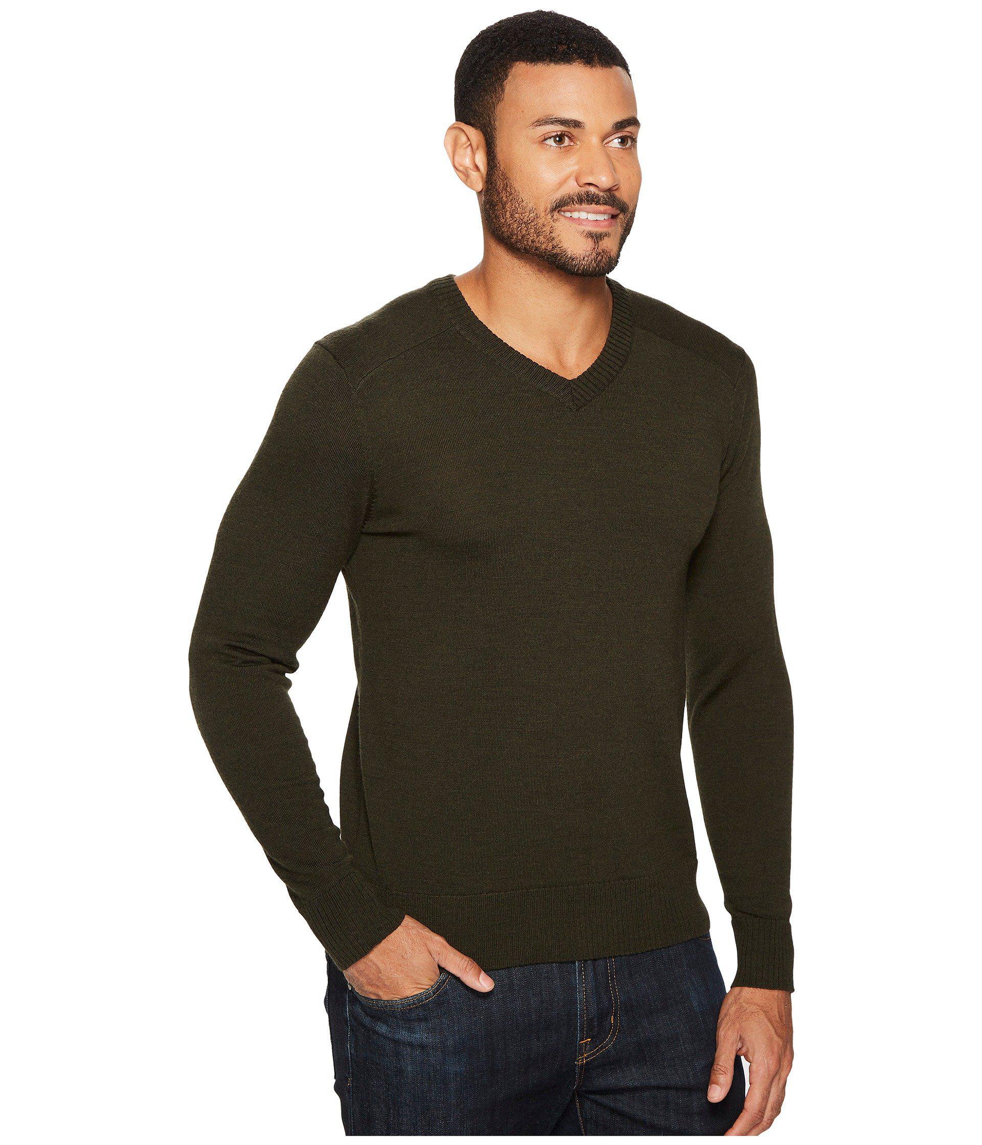 99b265c08 Lyst - Smartwool Kiva Ridge V-neck Sweater in Green for Men