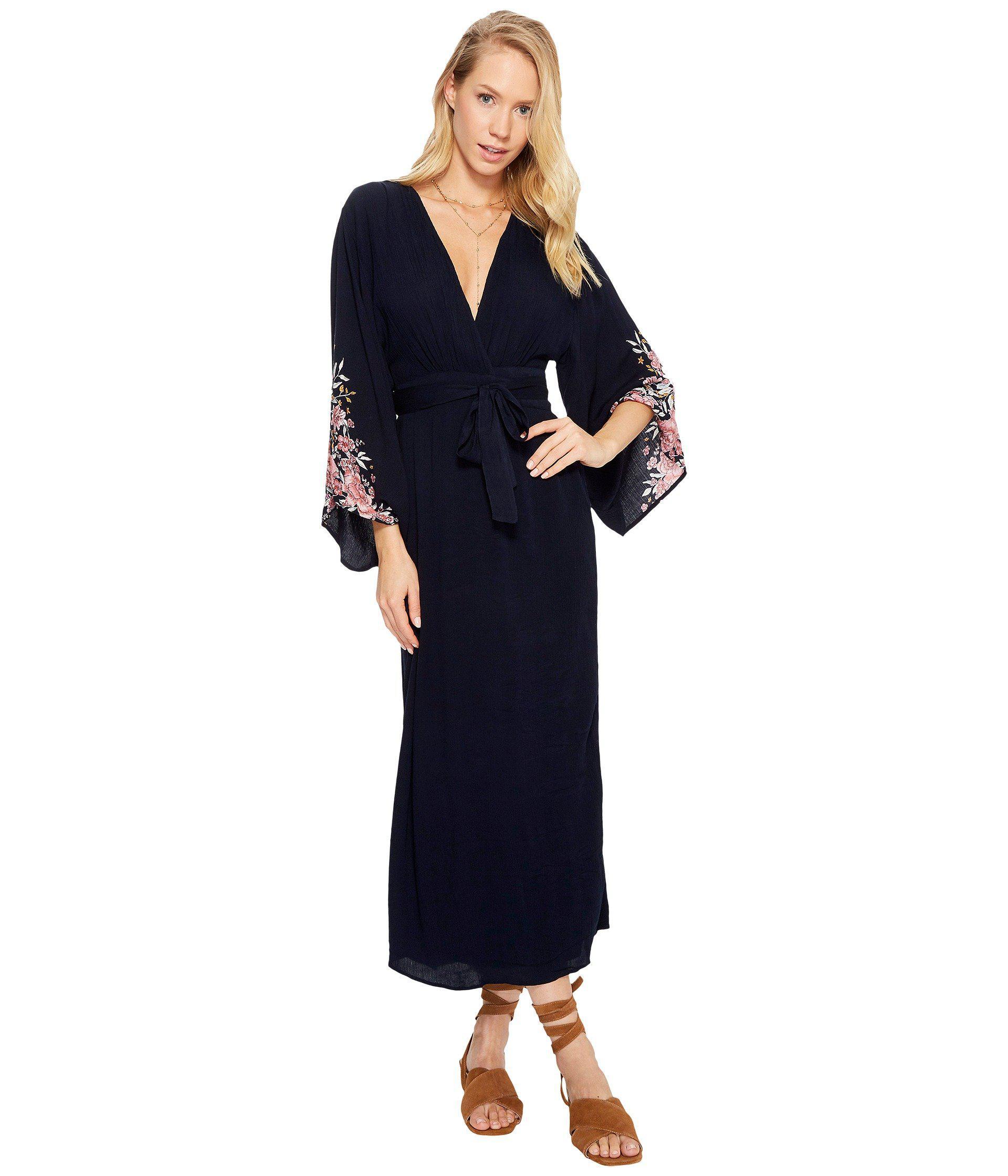 c6b9822740367 Lyst - Billabong Robe Life Dress in Blue