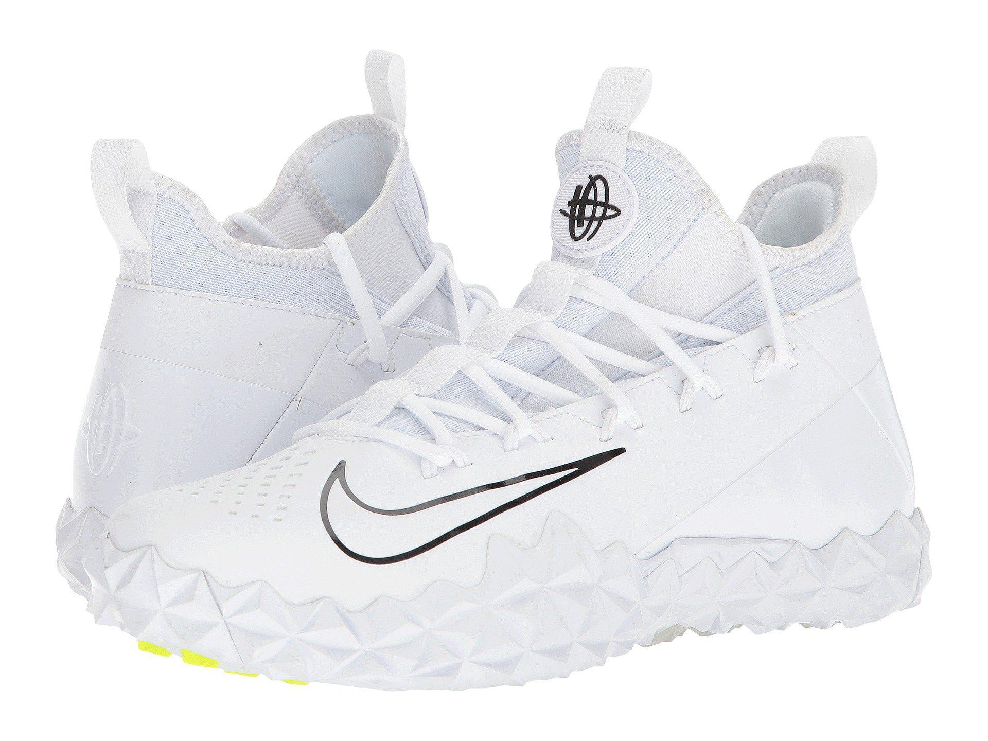 e6d7d300ea93 Lyst - Nike Alpha Huarache 6 Elt Turf Lax in White for Men