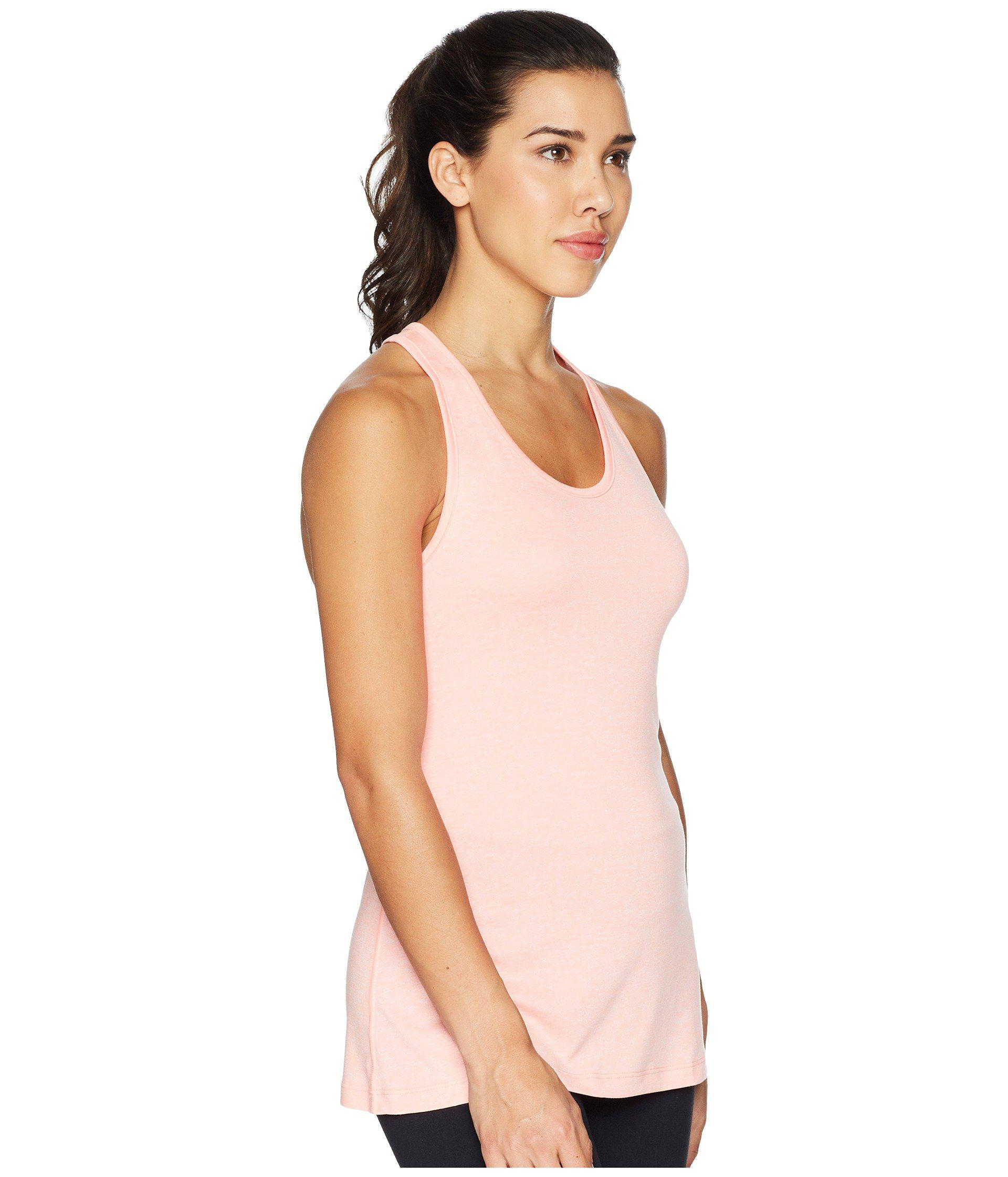 335ba56b524569 Lyst - Nike Balance Cross-dye Veneer Dry Tank Top in Pink - Save 17%