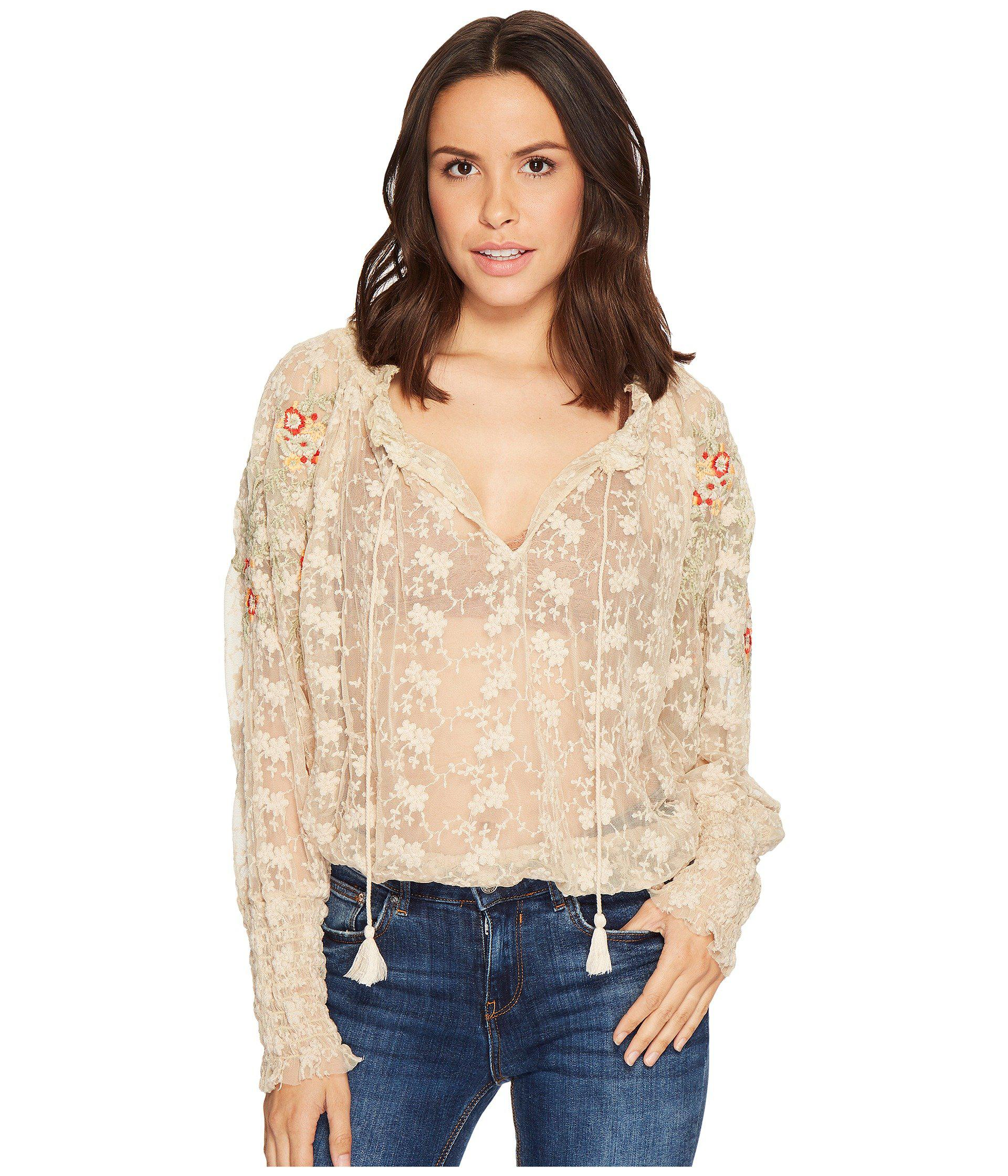 7b315b50642a Lyst - Free People Jubilee Top in White - Save 35%