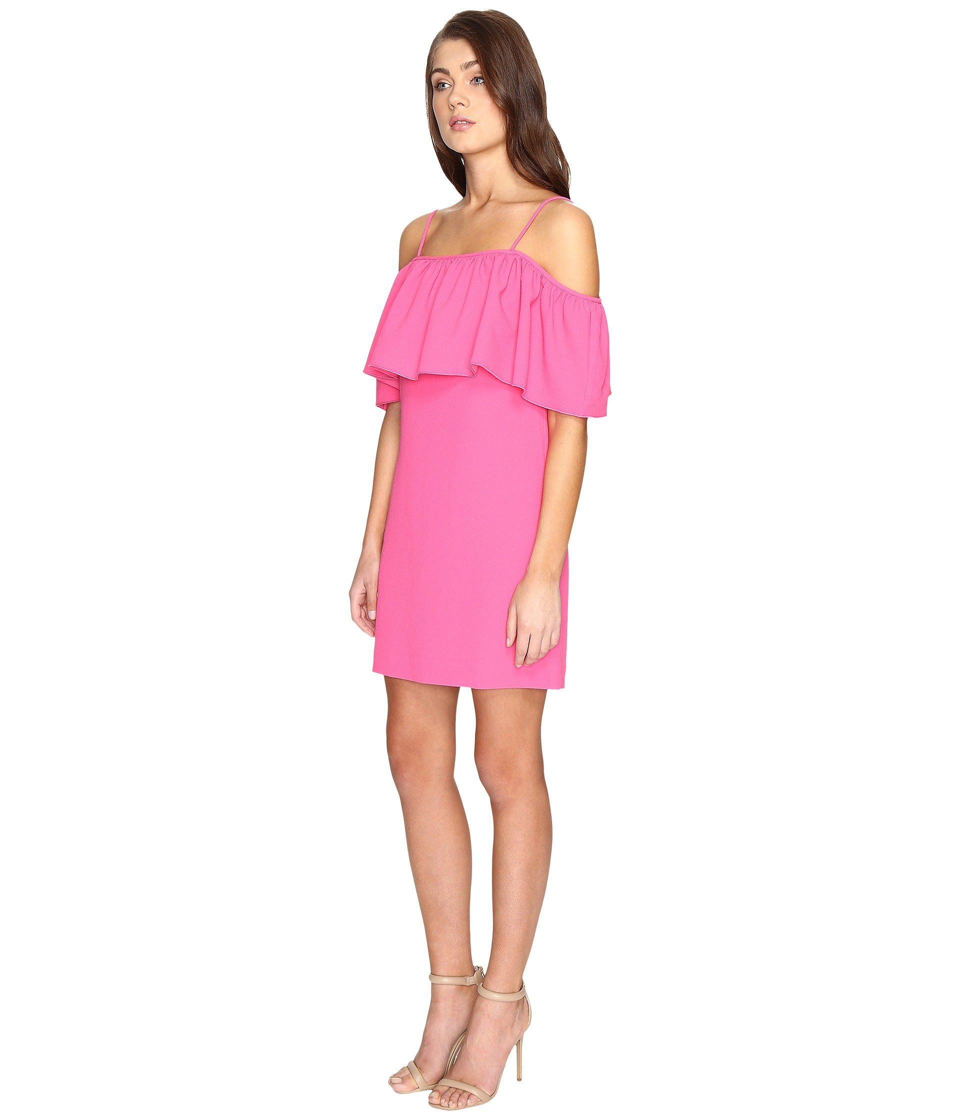 fd698a25f407 Lyst - Trina Turk Aloha Dress in Pink