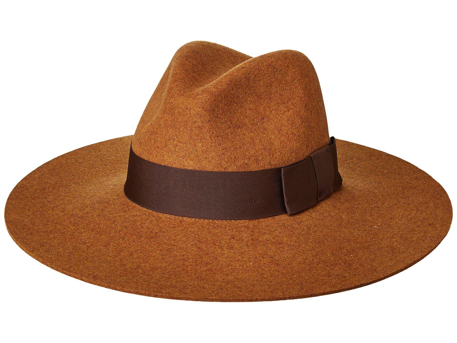 953c30bf3ce Lyst - Brixton Piper Hat in Brown