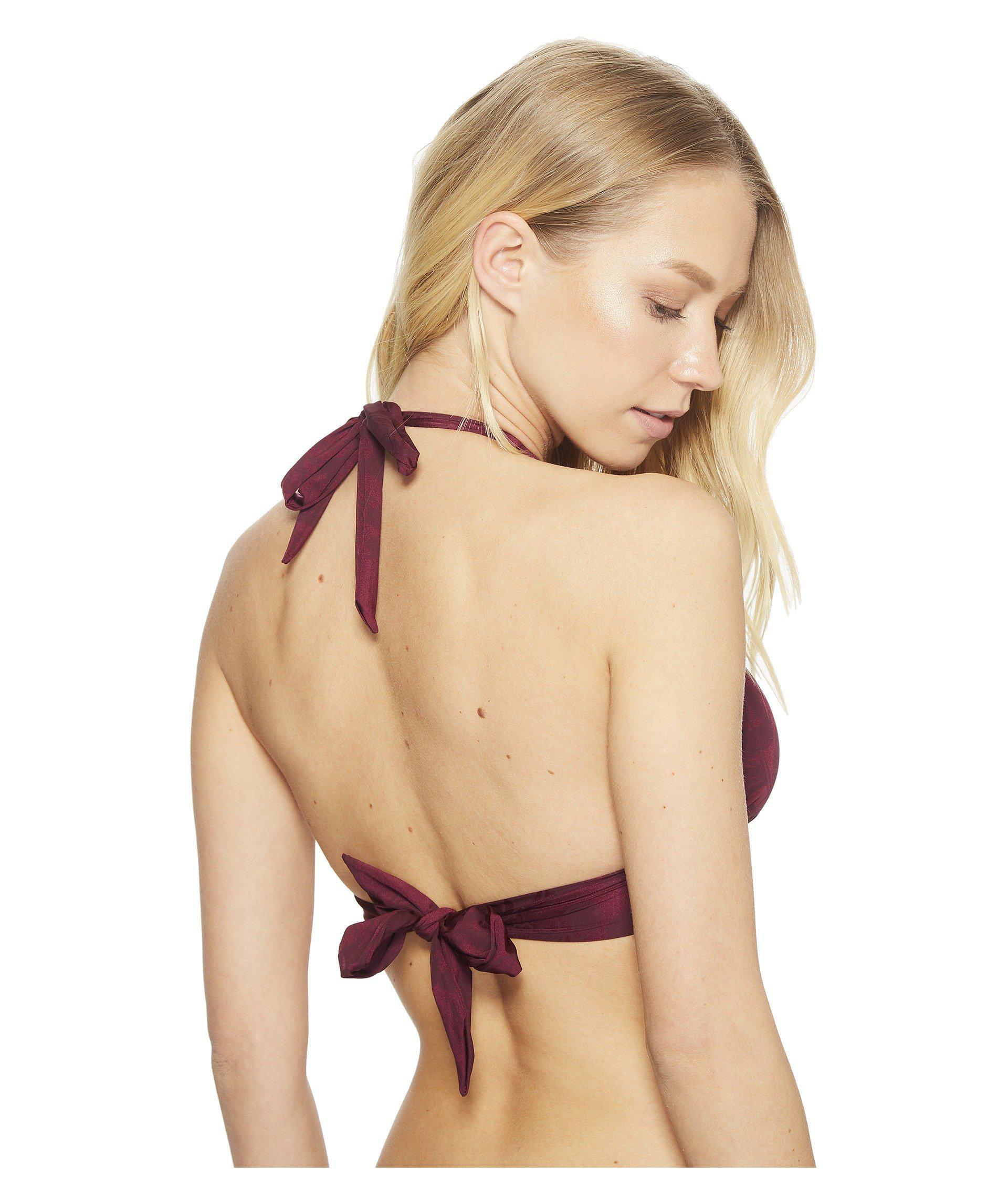 bec0070c6593d Lyst - The Bikini Lab Em Bossy Halter Bikini Top - Save 42%