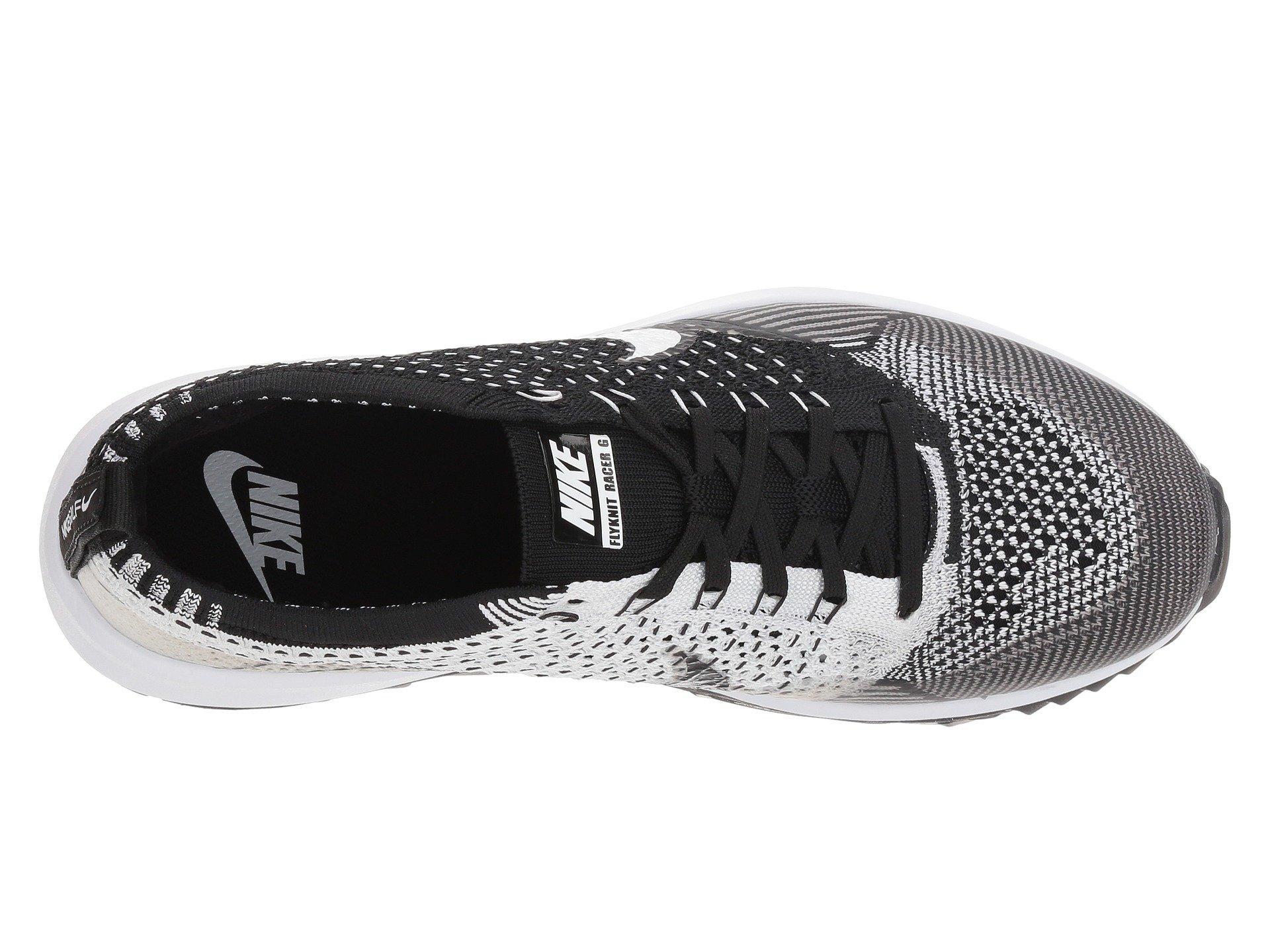 wholesale dealer 8d0ee 36e93 Nike - Black Flyknit Racer G - Lyst. View fullscreen