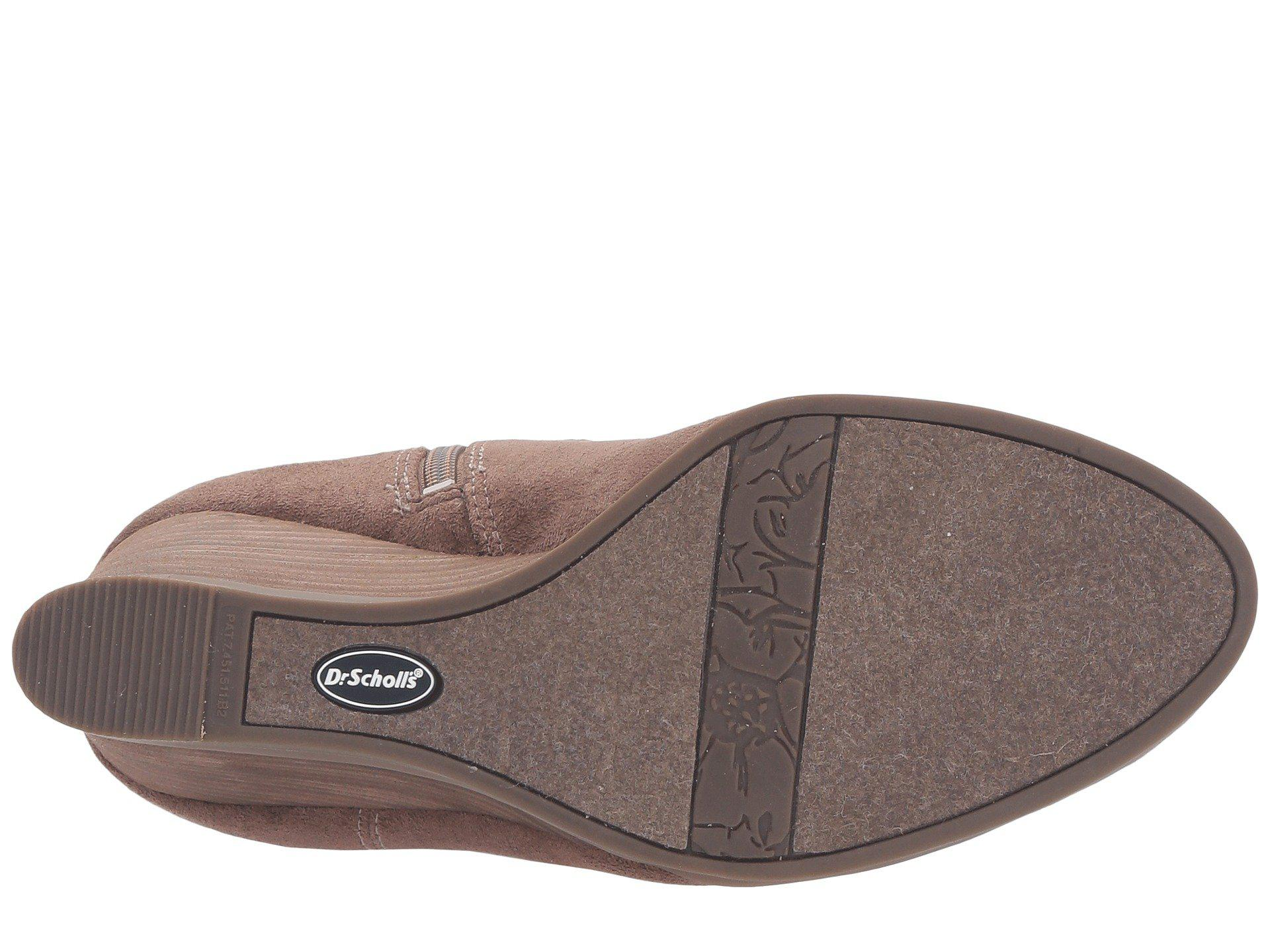 9acf57aaa389 Lyst - Dr. Scholls Poe Wide Calf in Brown