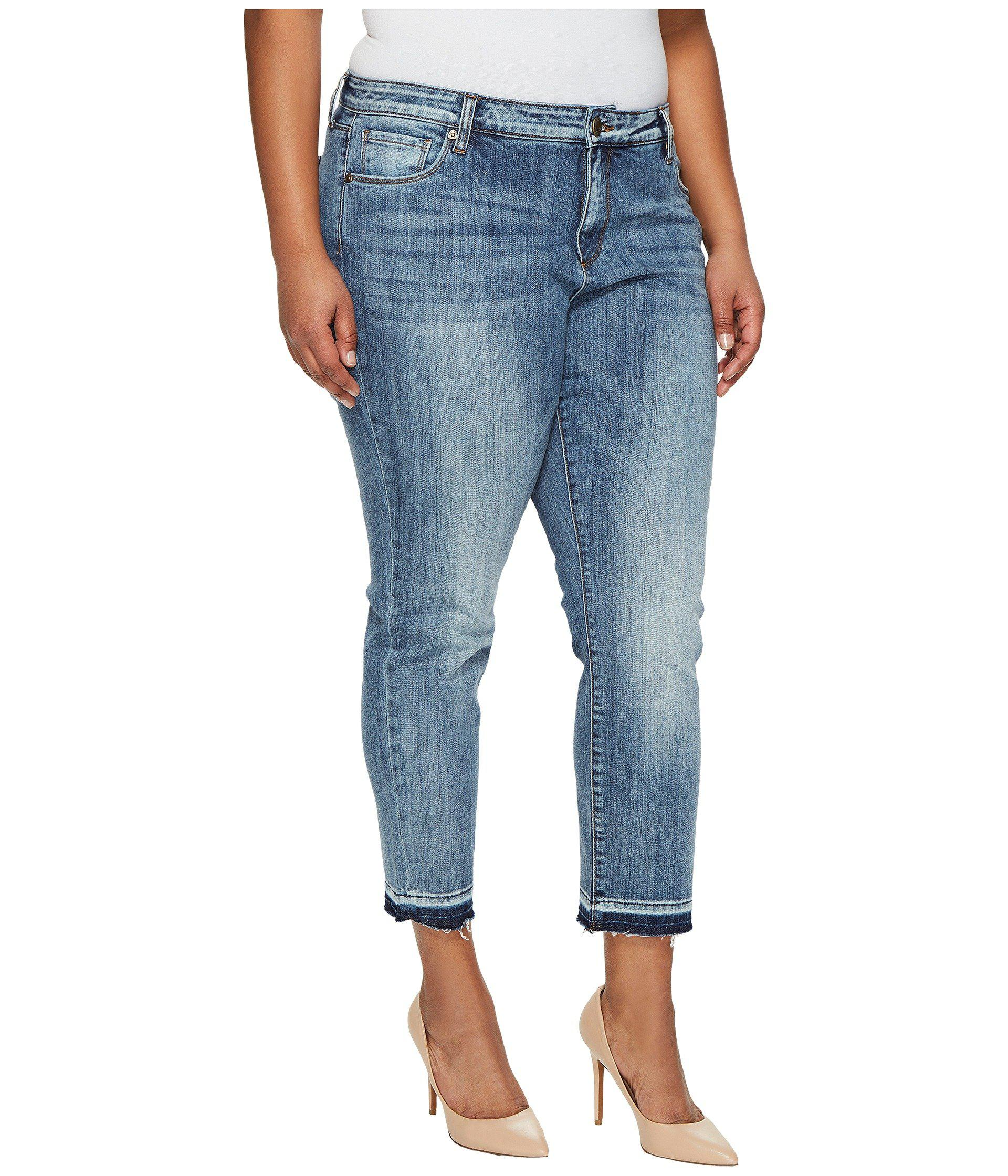 9fb9114f313 Lyst - Kut From The Kloth Plus Size Reese Ankle Straight Leg In ...