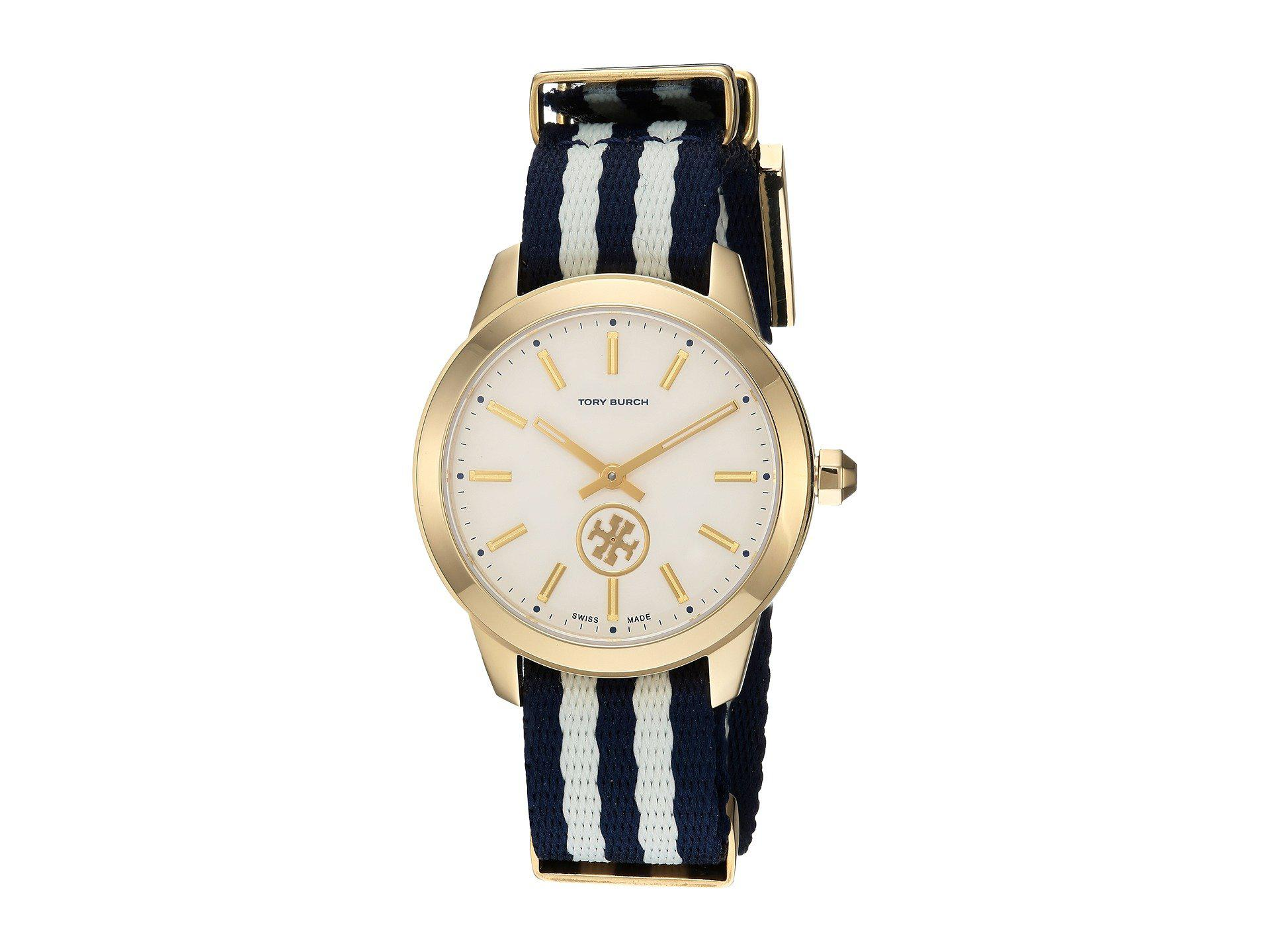 gold preppy kors runway watch watches normal chic blue michael gallery bluerose in lyst accessories product metallic