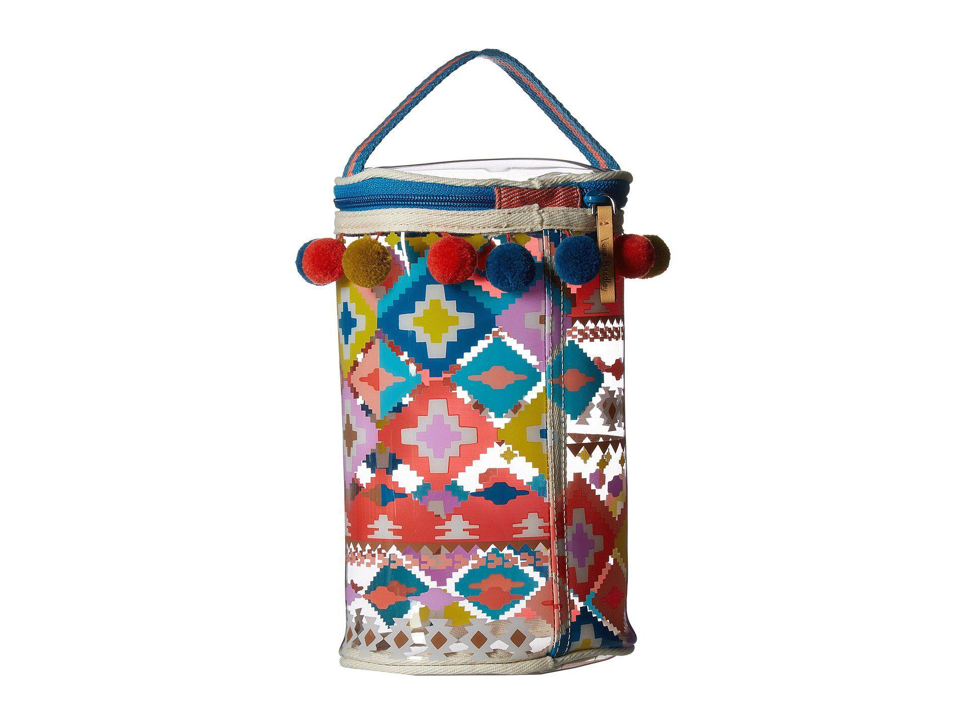 Vera Bradley Blue Lotion Bag Lyst View Fullscreen
