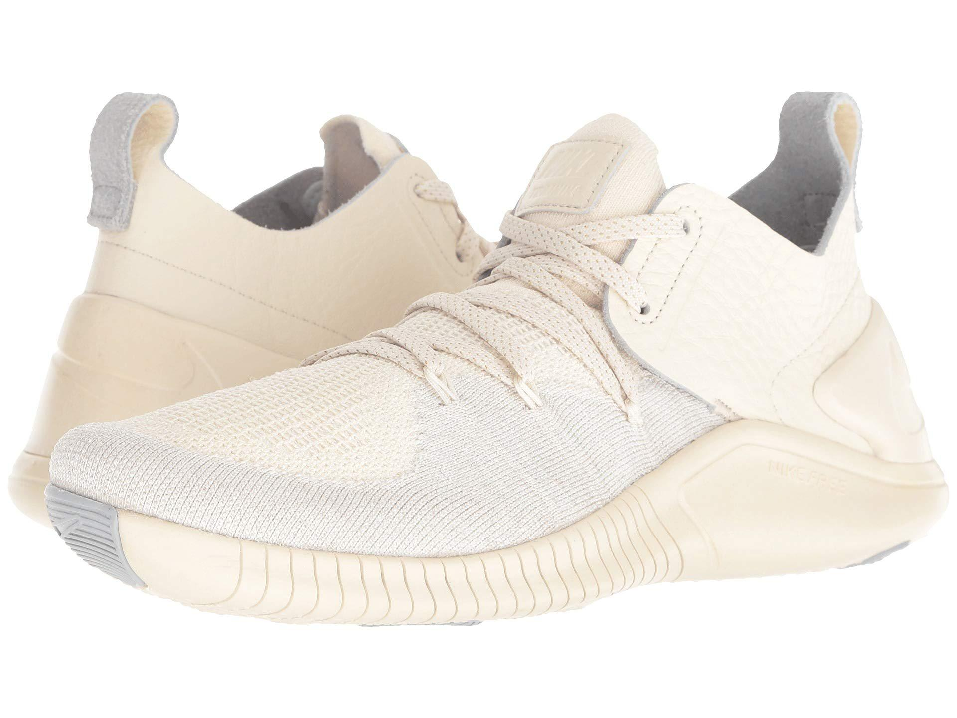 787dada81f7a Lyst - Nike Free Tr Flyknit 3 Champagne in Natural