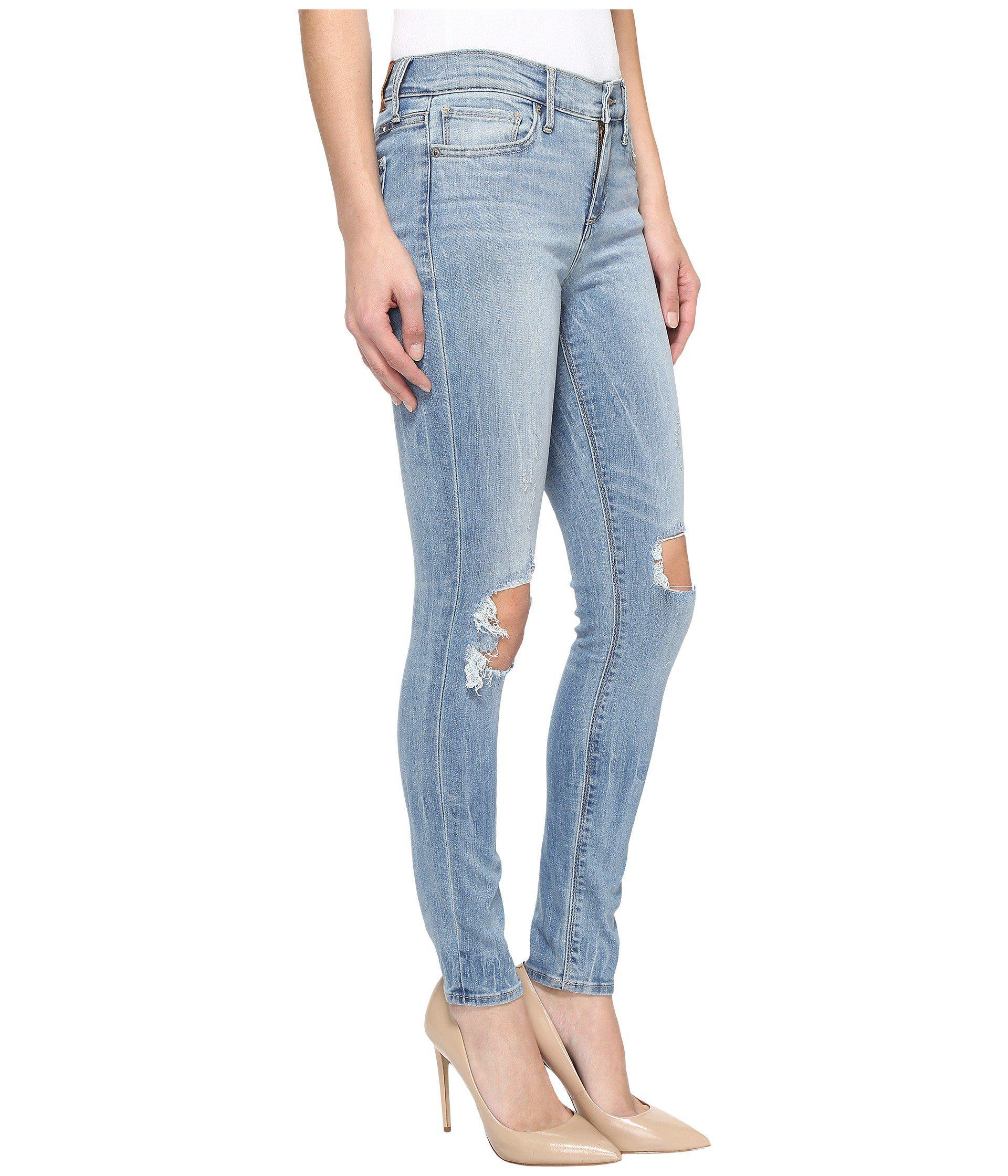 b691a212cb565 Lucky Brand Brooke Legging Jeans In Byers in Blue - Lyst