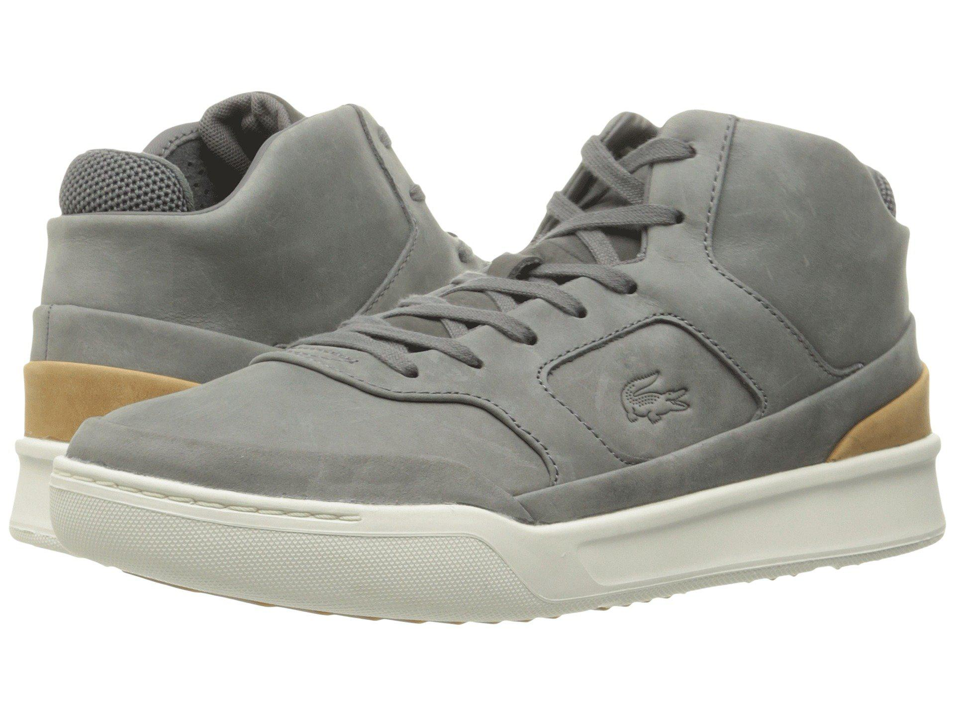 f7a5a1c98b7c Lyst - Lacoste Explorateur Mid 316 2 Cam Fashion Sneaker in Gray for ...