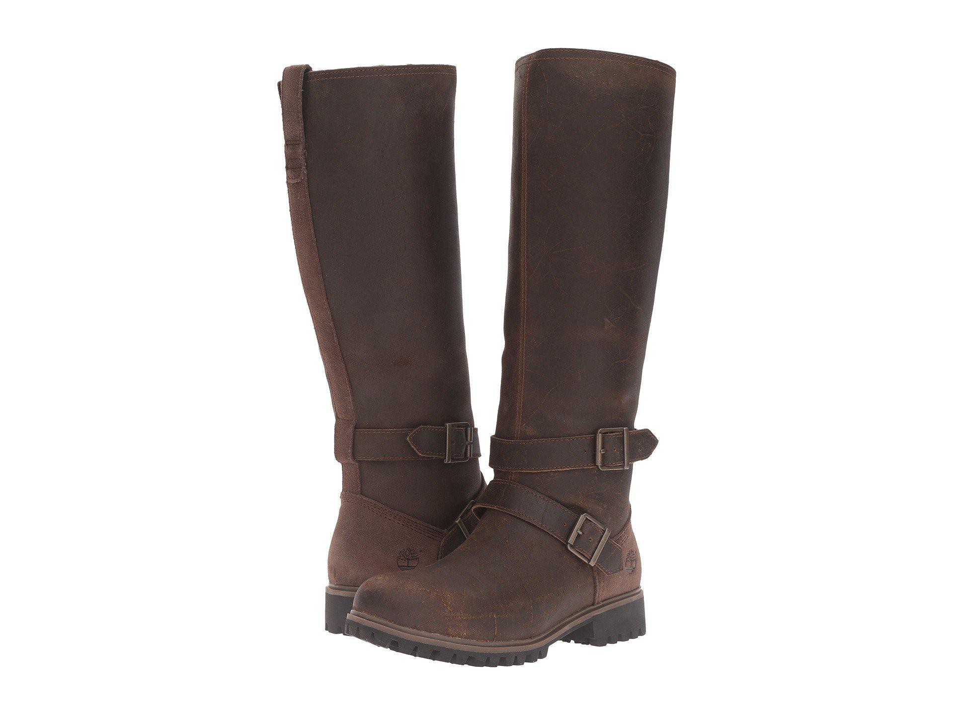 2fdbd4bc3a34 Timberland. Women s Brown Wheelwright Tall Medium Shaft Waterproof Boot