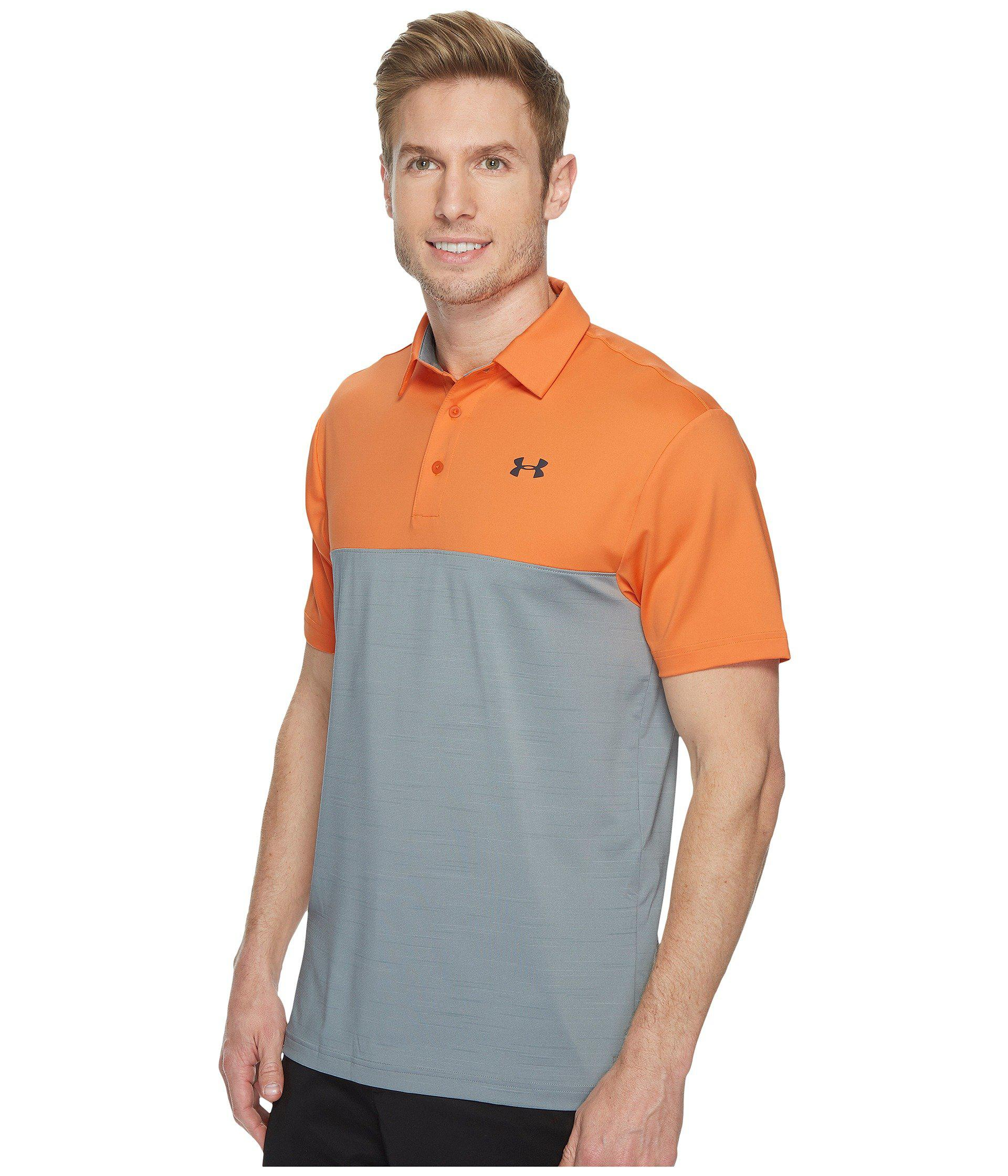 85645b8b Under Armour Playoff Polo Blocked in Gray for Men - Lyst