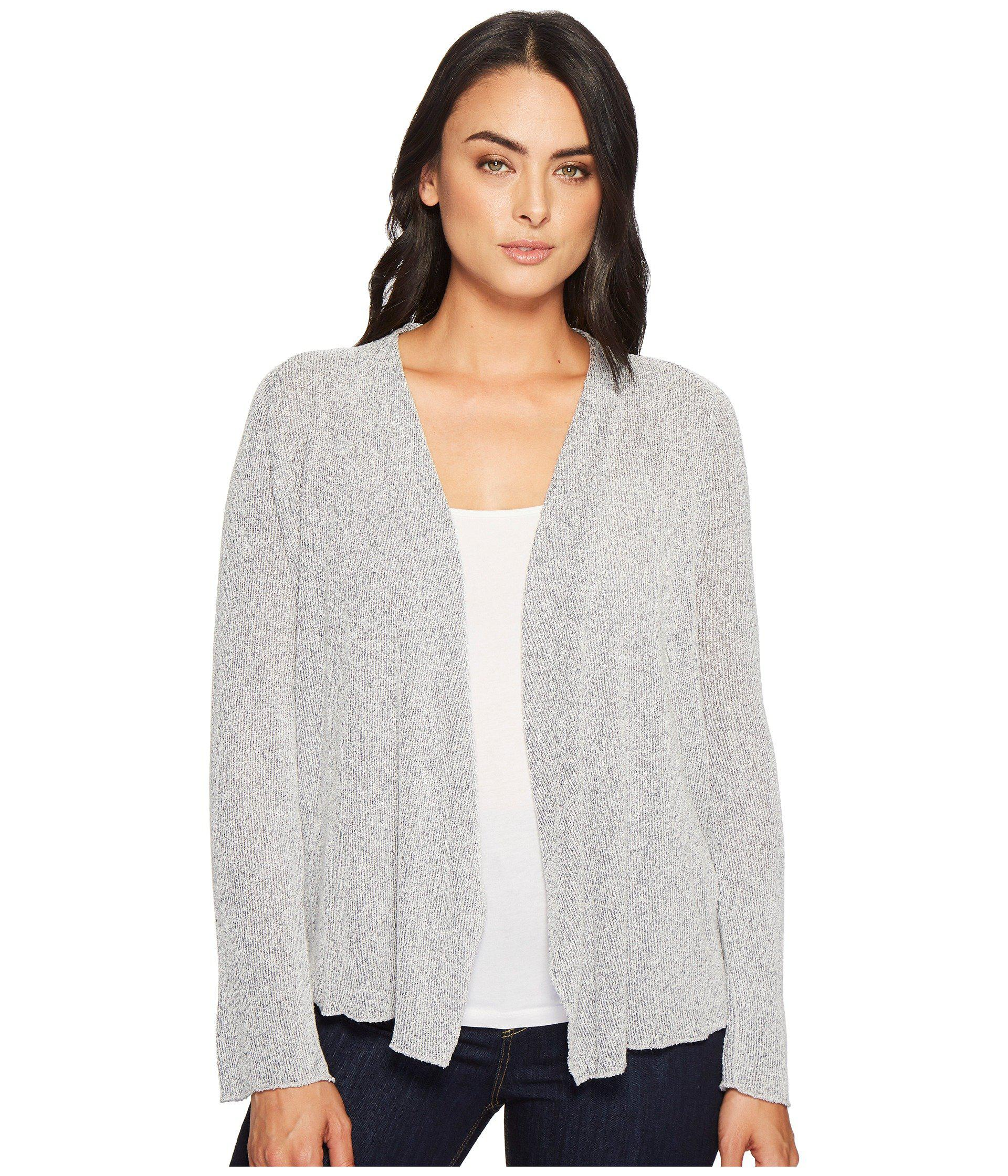 57804fd970f Lyst - Three Dots Boucle Sweater Knit Cardigan in Gray - Save 50%