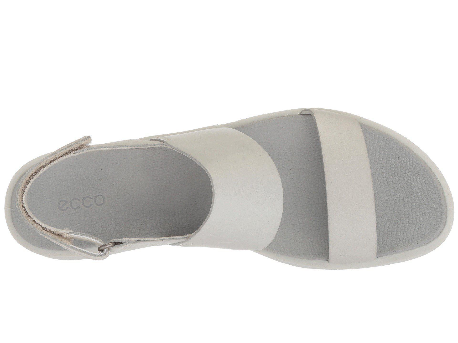 c04d50637859 Ecco - White Freja Classic Sandal - Lyst. View fullscreen