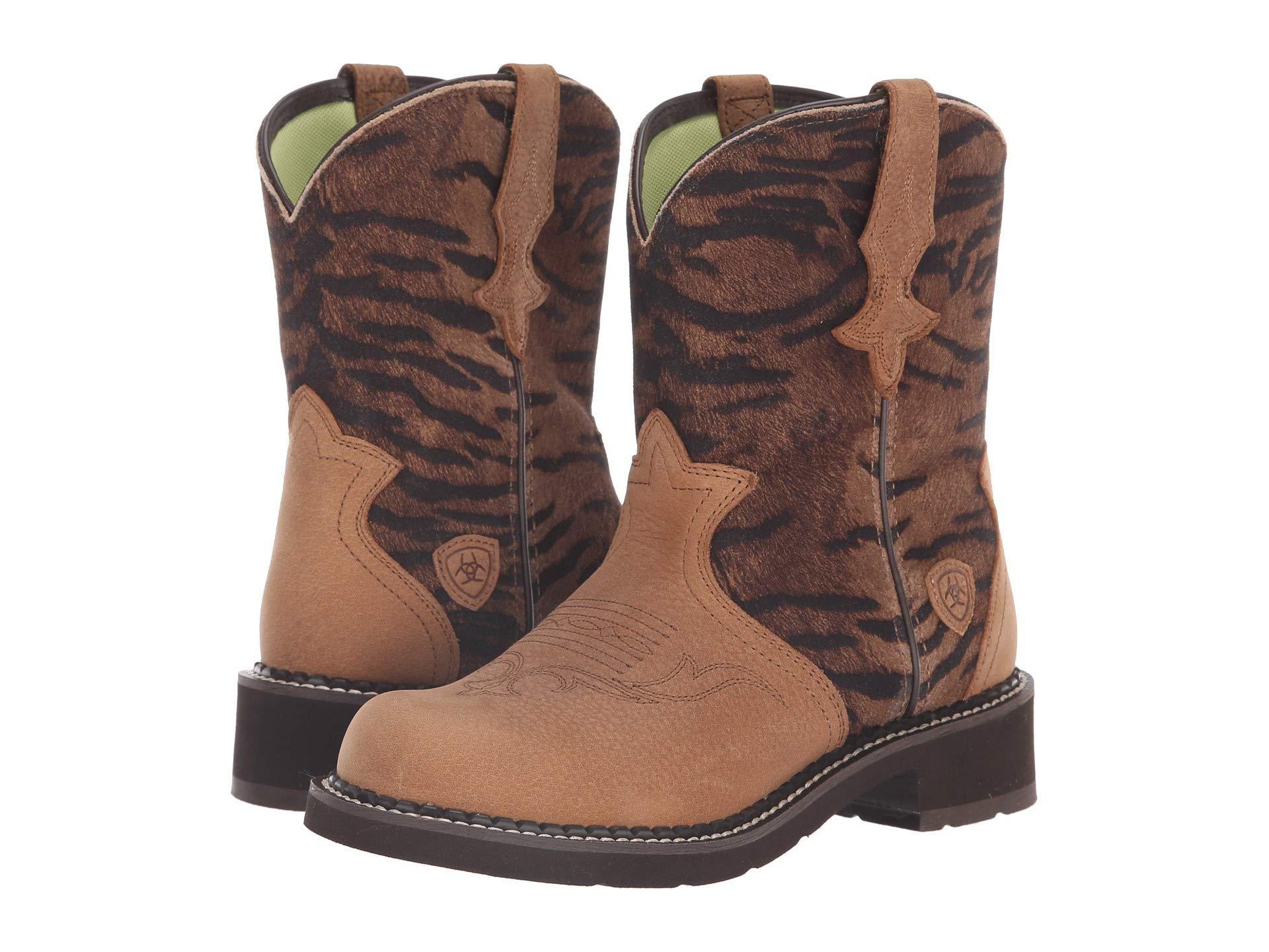 c3a9c167372 Lyst - Ariat Fatbaby Heritage Trio in Brown