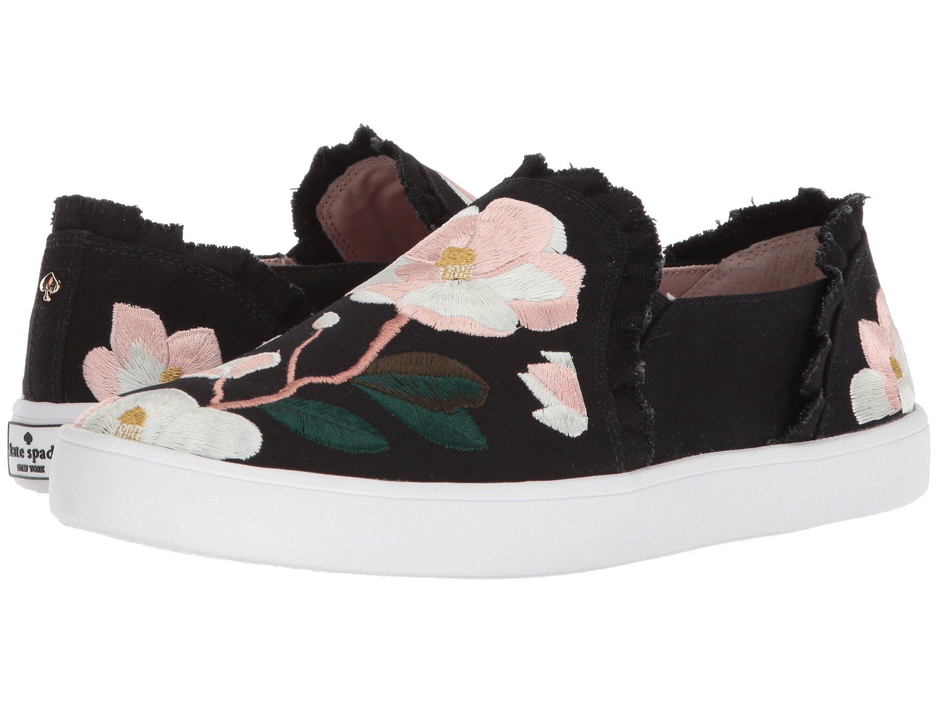 4cc37761648a Lyst - Kate Spade Leonie Sneaker in Black - Save 34%