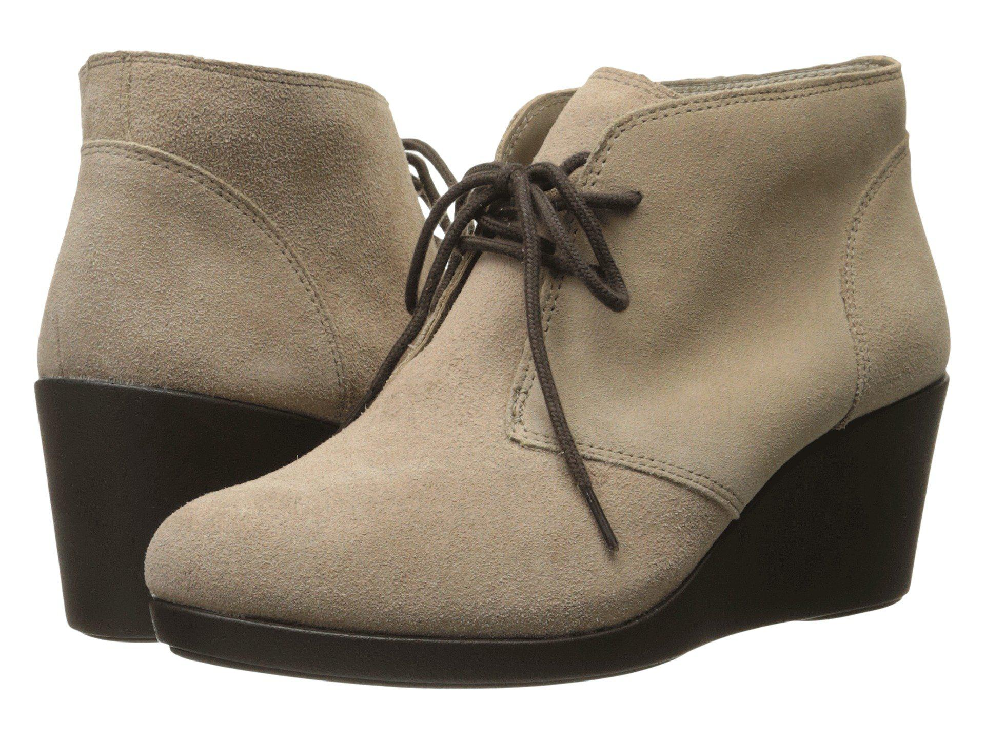 Crocs Leigh Beige Boots cheap the cheapest newest for sale for sale free shipping discount sneakernews VHgZI