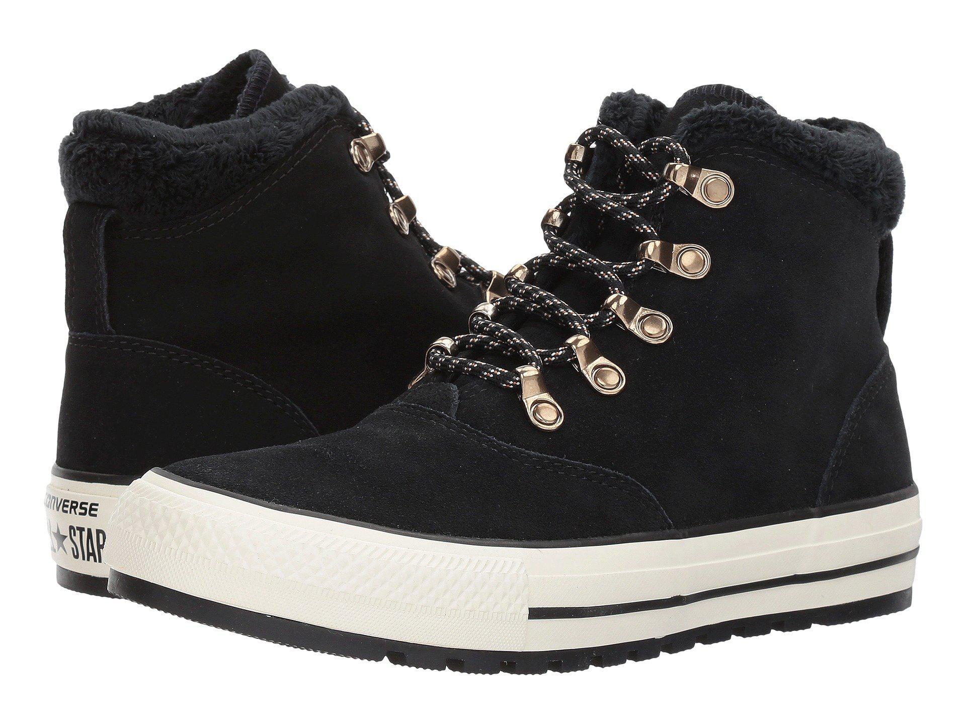 Converse All Chaussures Bateau Embre Étoile Noire Salut W b3WWd