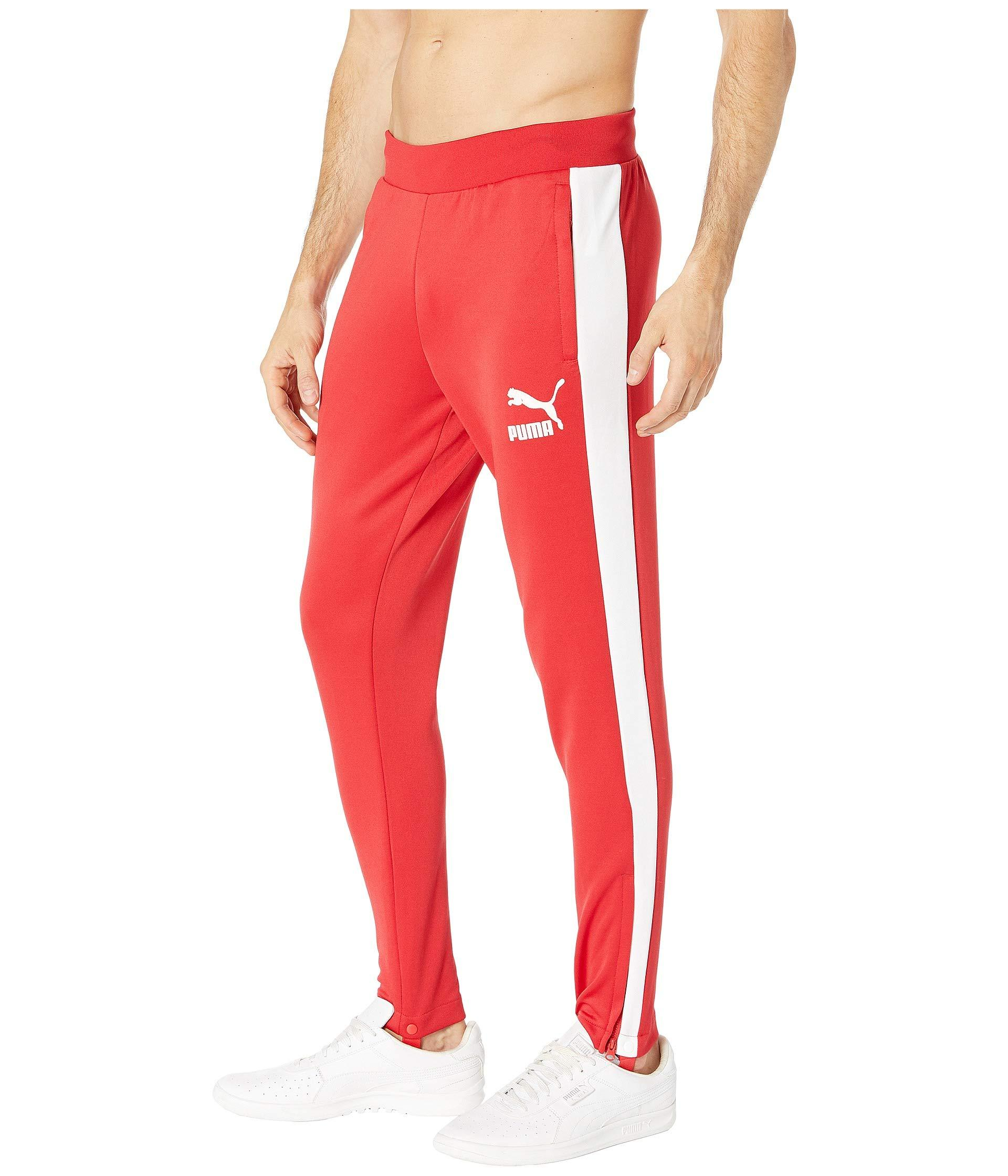 0030b9d76e9a Lyst - PUMA T7 Vintage Track Pants in Red for Men