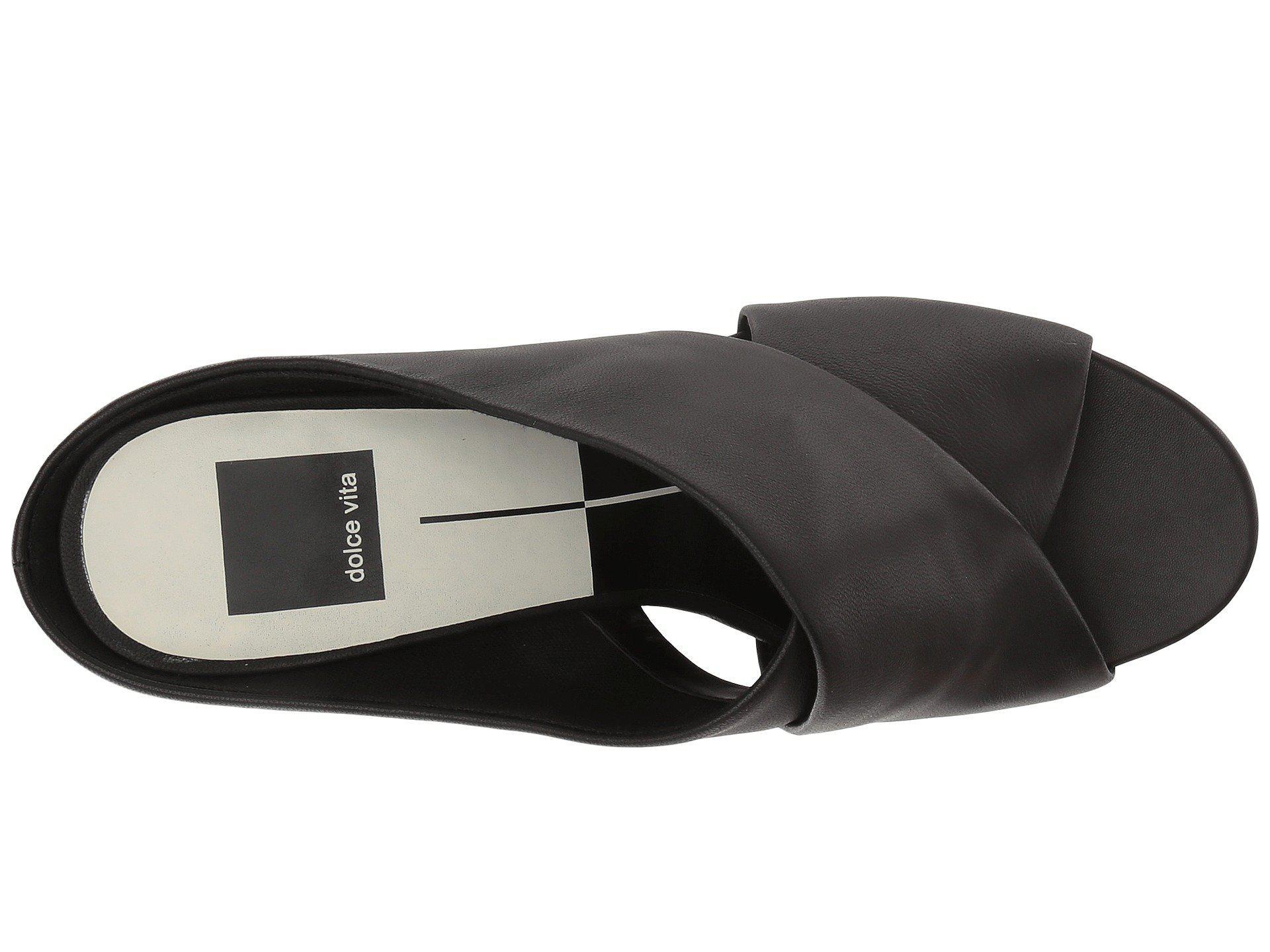 755f12f2445 Dolce Vita - Black Javi Heeled Sandal - Lyst. View fullscreen