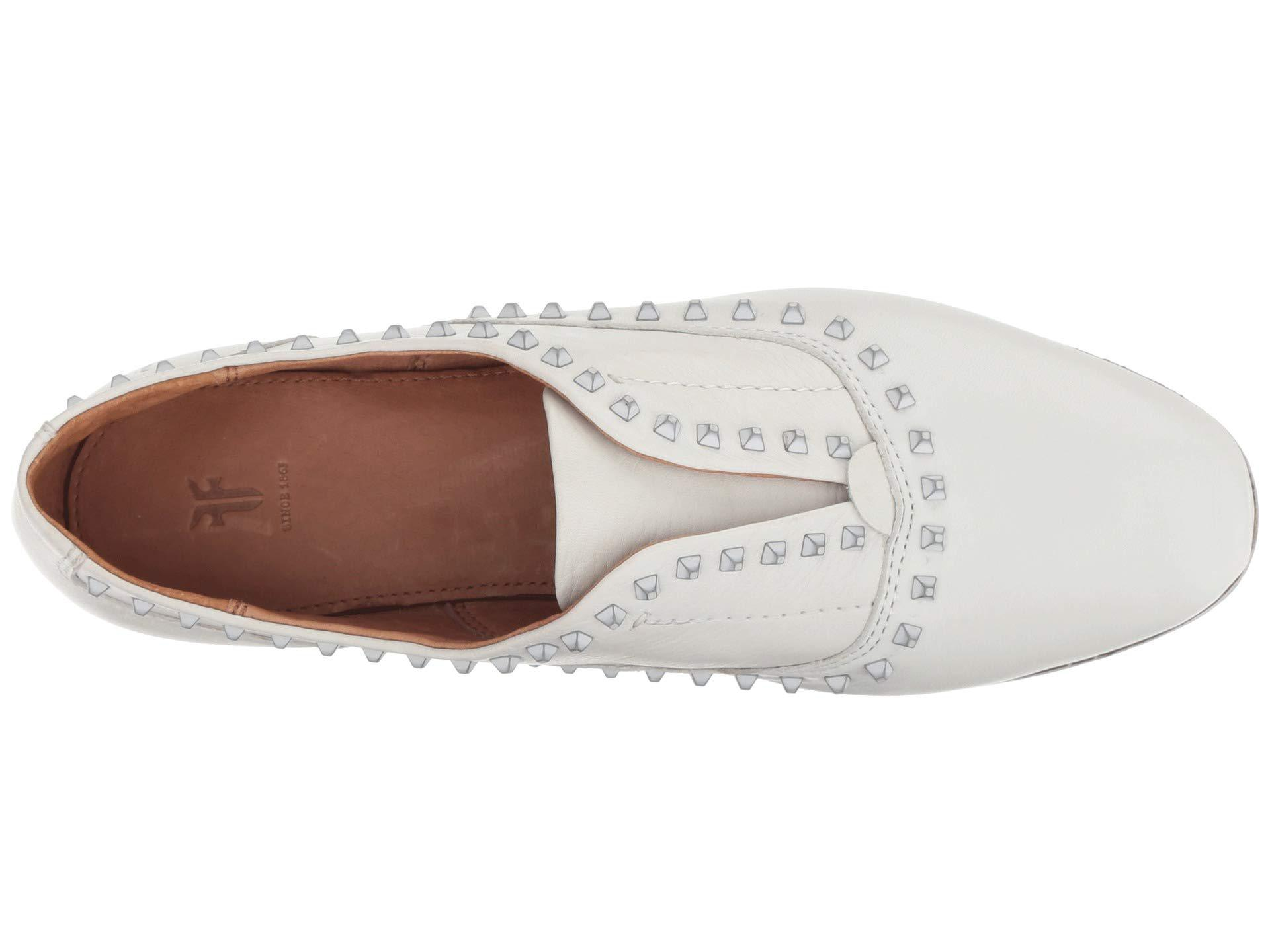 dadf50be349 Lyst - Frye Terri Deco Stud Slip-on in White - Save 50%