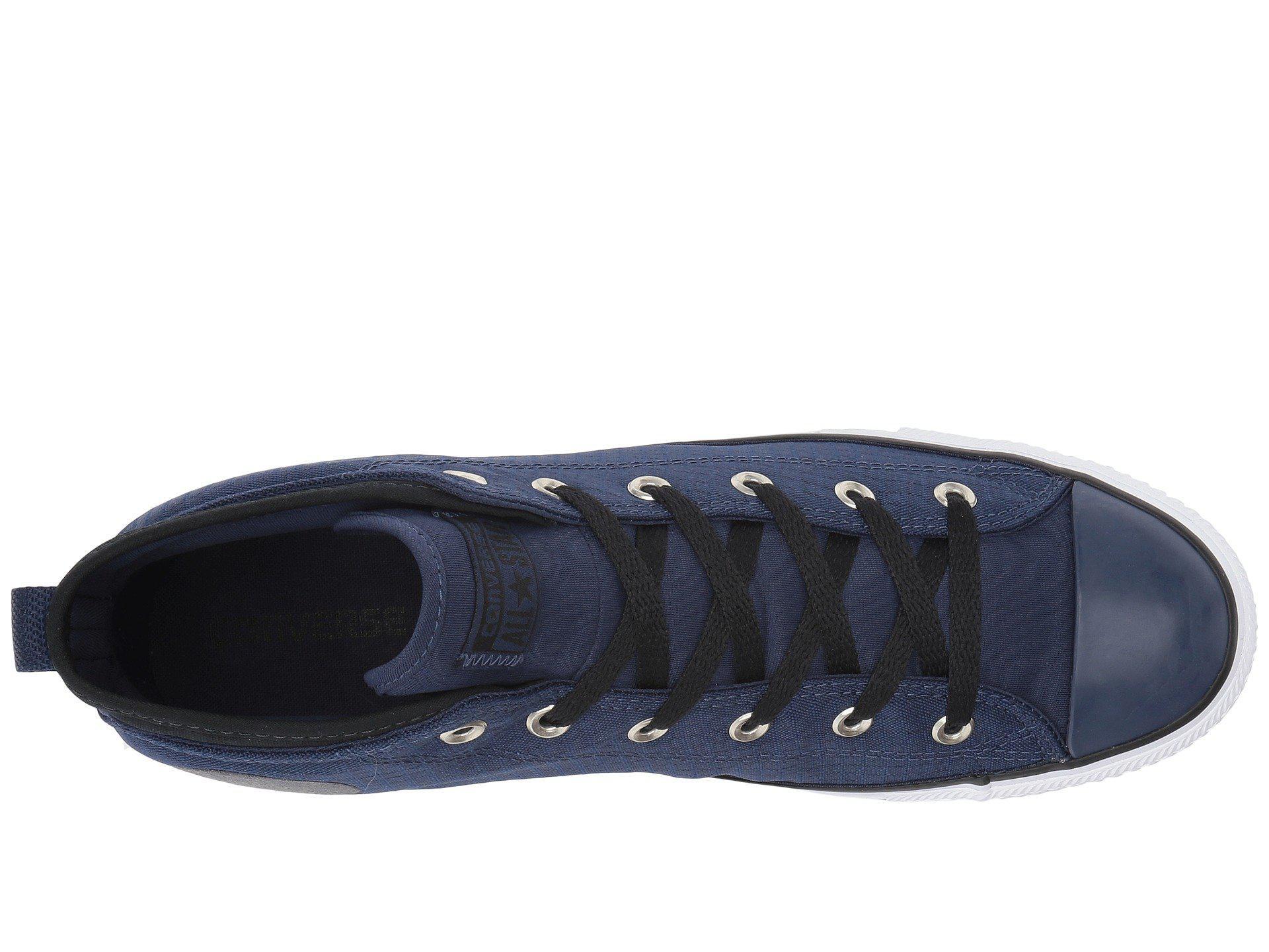 Converse - Blue Chuck Taylor® All Star® Syde Street - Mid - Lyst. View  fullscreen d5d11c0e2