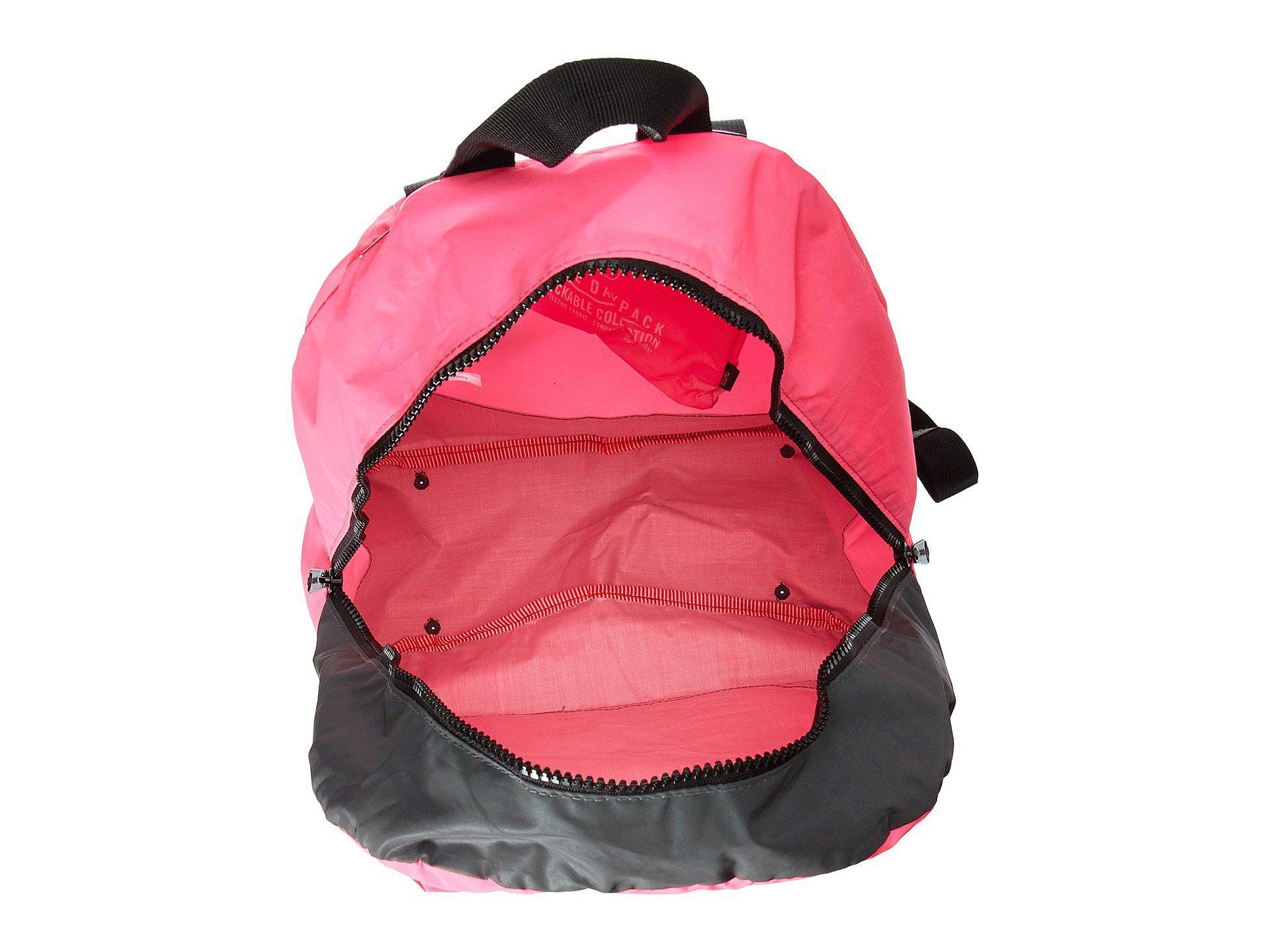 89183d8d42f0 Herschel Supply Co. - Pink Packable Daypack - Lyst. View fullscreen