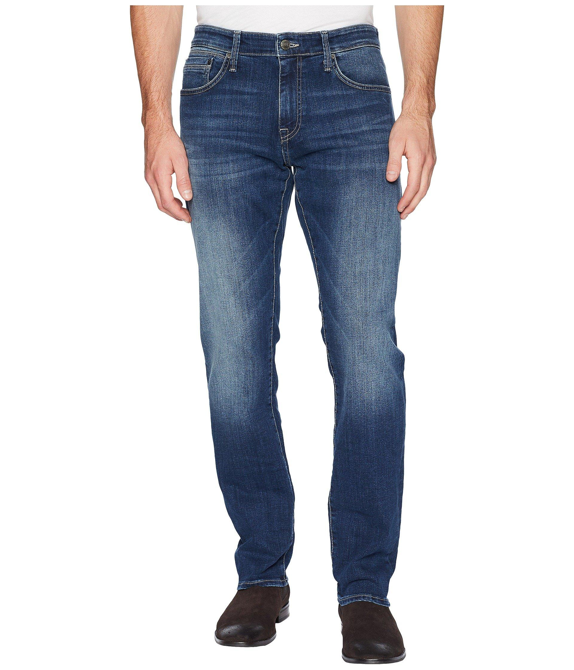 4166d18ff3a61 Mavi Jeans. Men s Zach Regular Rise Straight Leg In Dark Blue Williamsburg