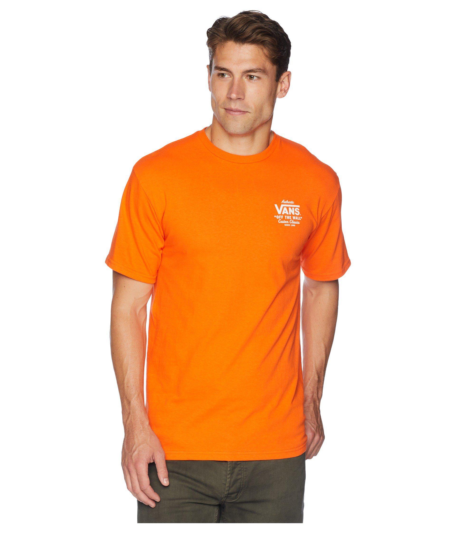 3c0c6288724676 Vans - Orange Holder St Classic T-shirt for Men - Lyst. View fullscreen