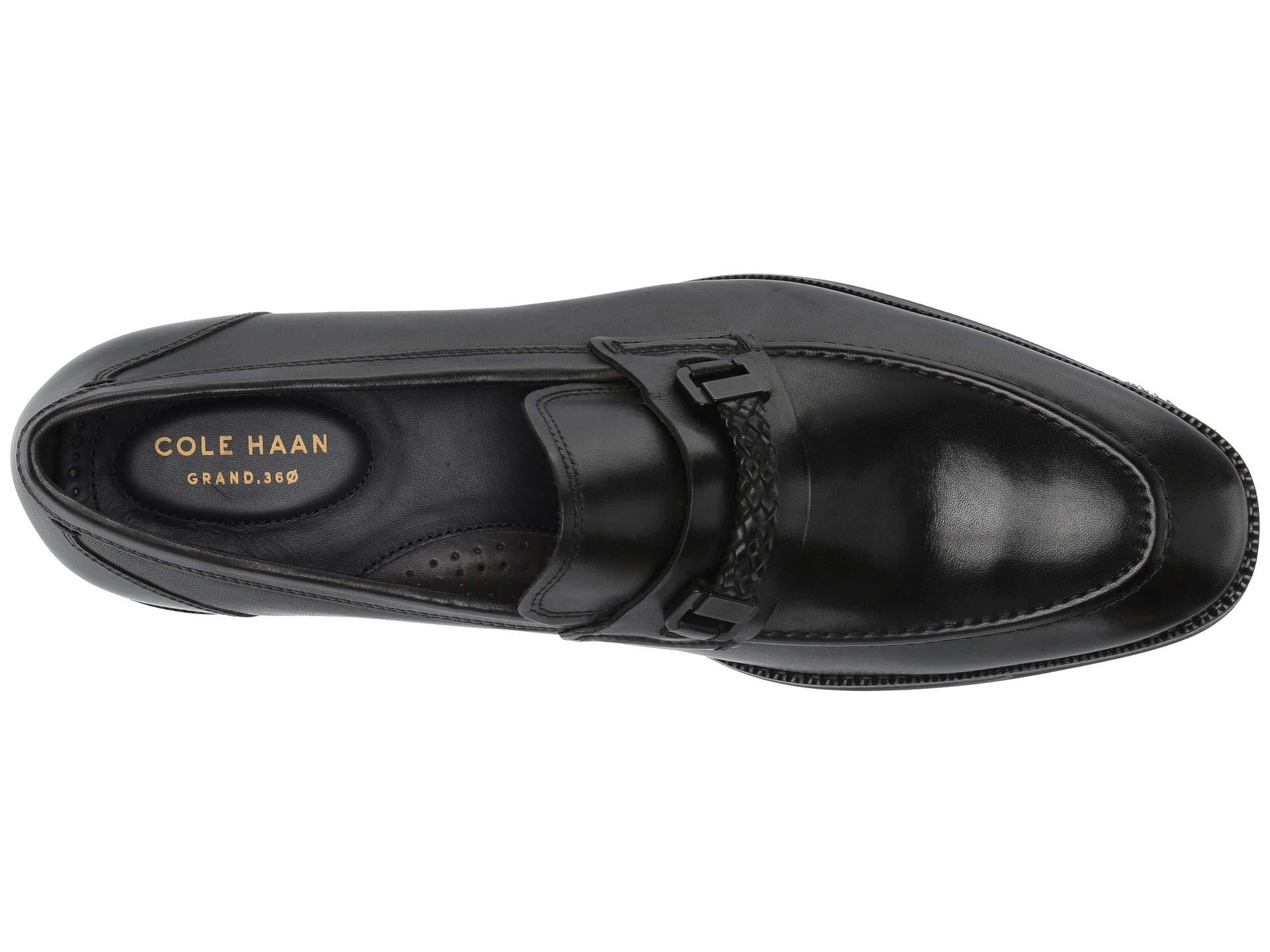 11f5ba1a8f2 Cole Haan - Black Warner Grand Bit Loafer for Men - Lyst. View fullscreen