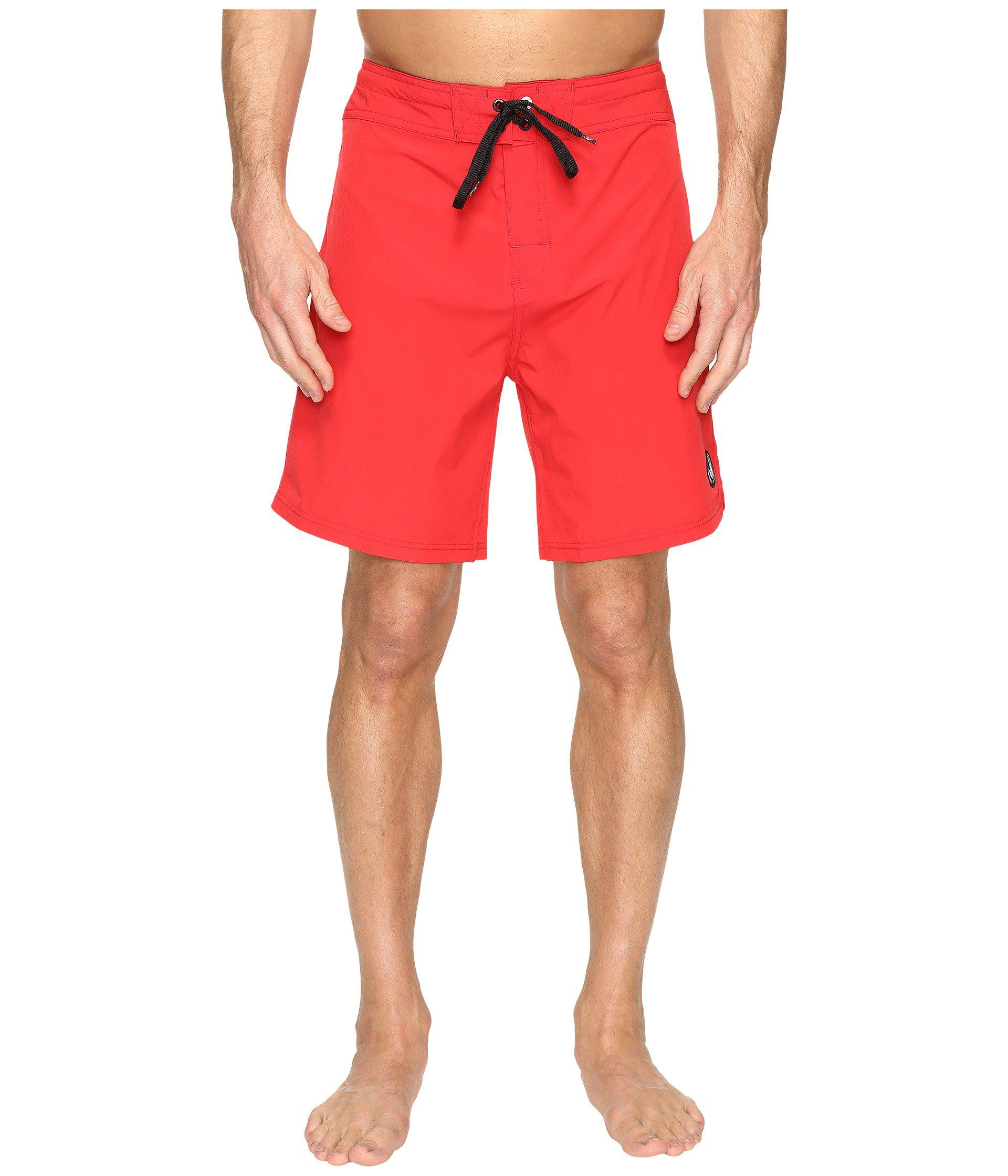 b6893614d037e Lyst - Body Glove Vapor Twin Spin Boardshorts in Red for Men - Save 27%