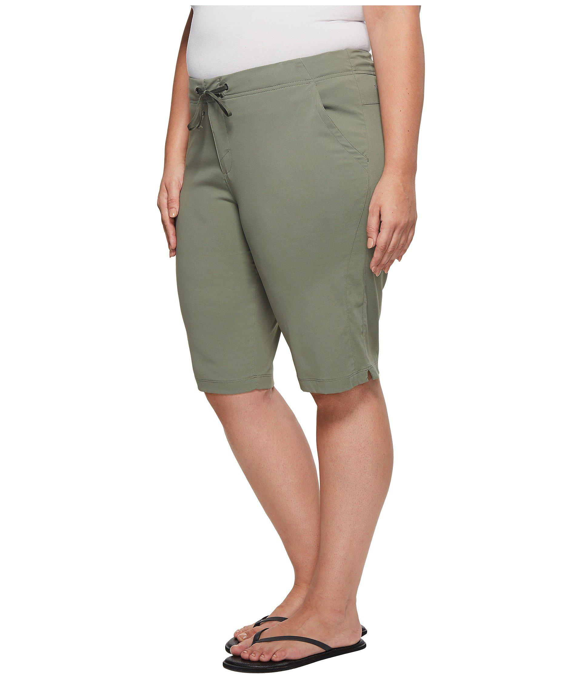 6ddd2421e67 Lyst - Columbia Plus Size Anytime Outdoortm Long Short in Green