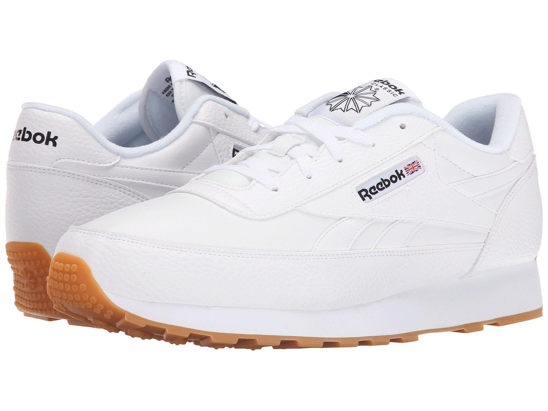 dc3b863d74a Reebok - White Classic Renaissance Gum for Men - Lyst. View fullscreen