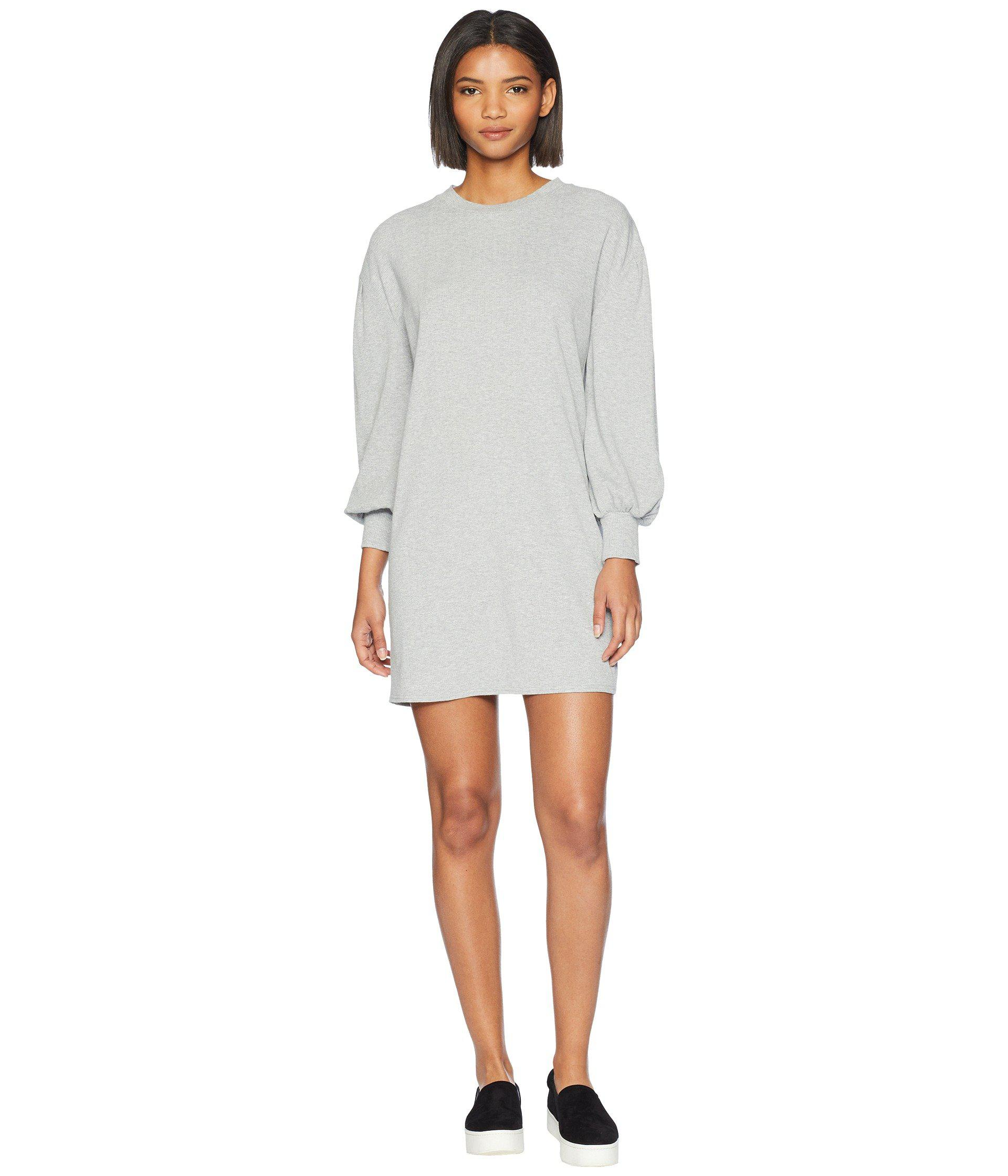 f029169c100 Volcom Lil 3 4 Sleeve Crew Neck Dress in Gray - Save 62% - Lyst