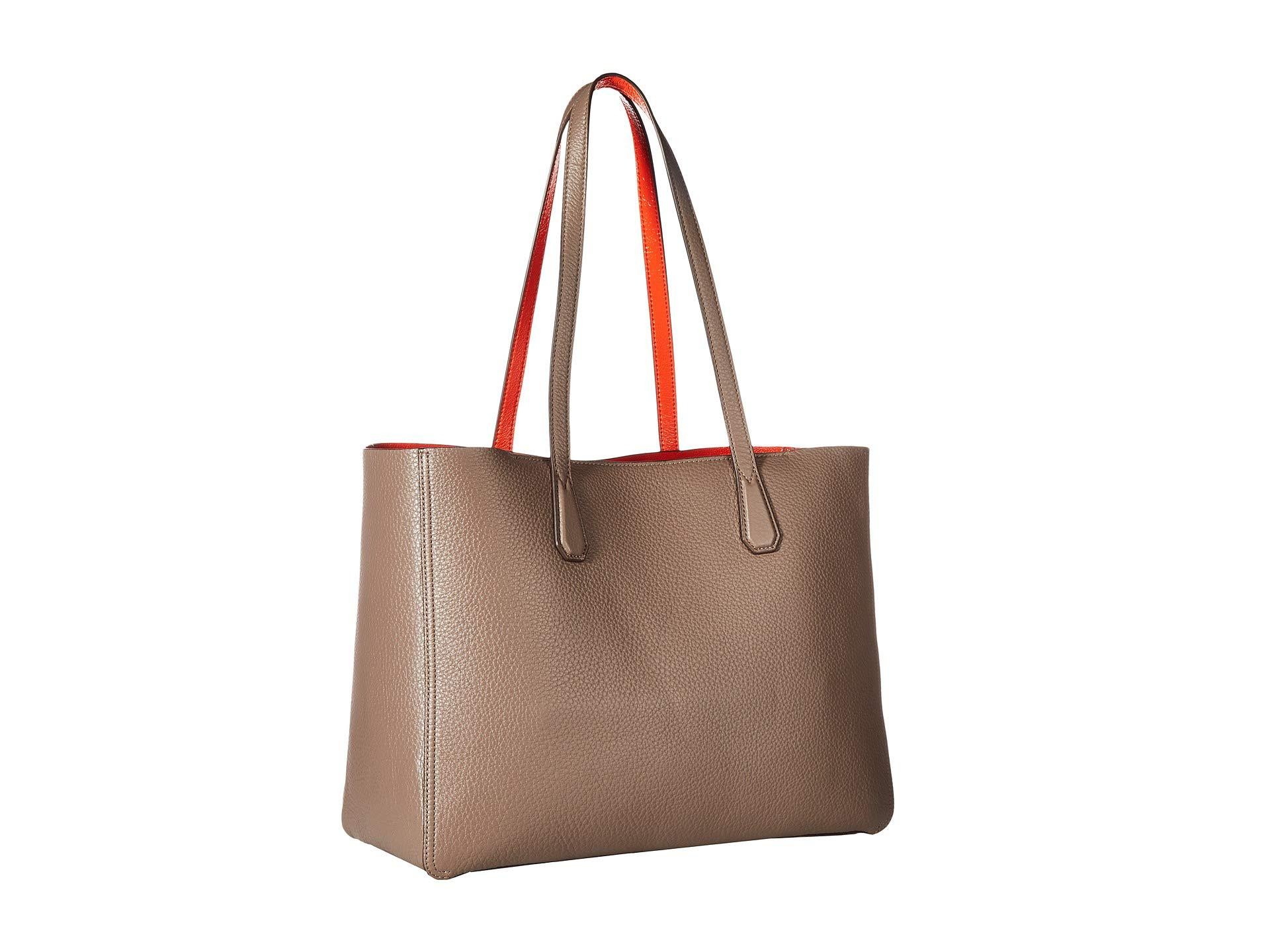 132cc32407 Tory Burch Perry Tote in Brown - Lyst