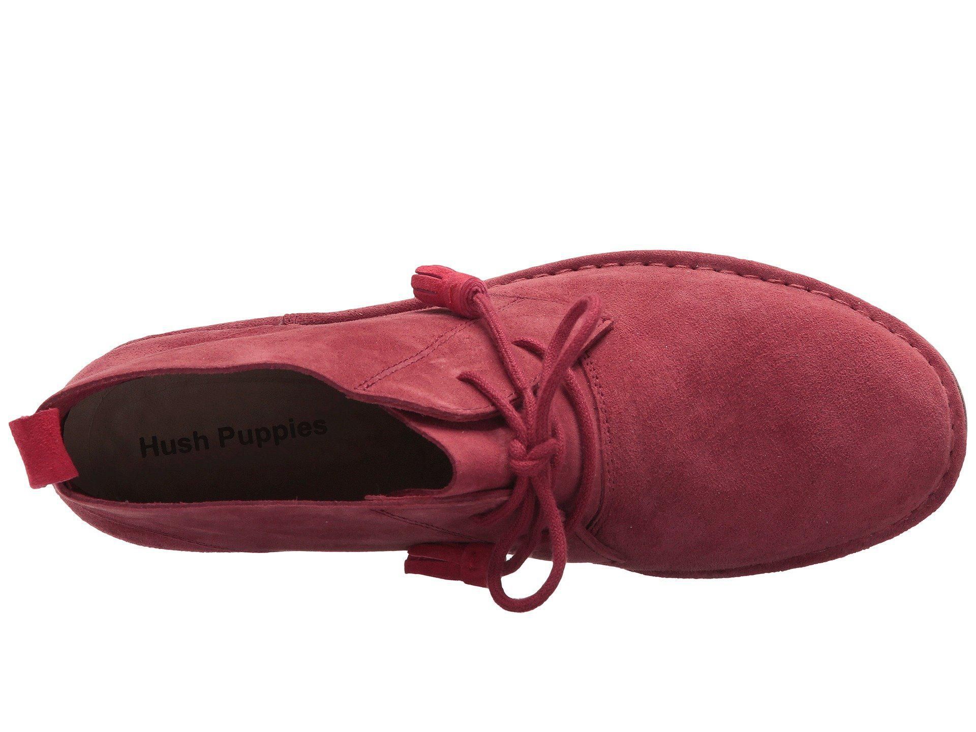 8ccc4ac9532 Lyst - Hush Puppies Cyra Catelyn in Red - Save 61%