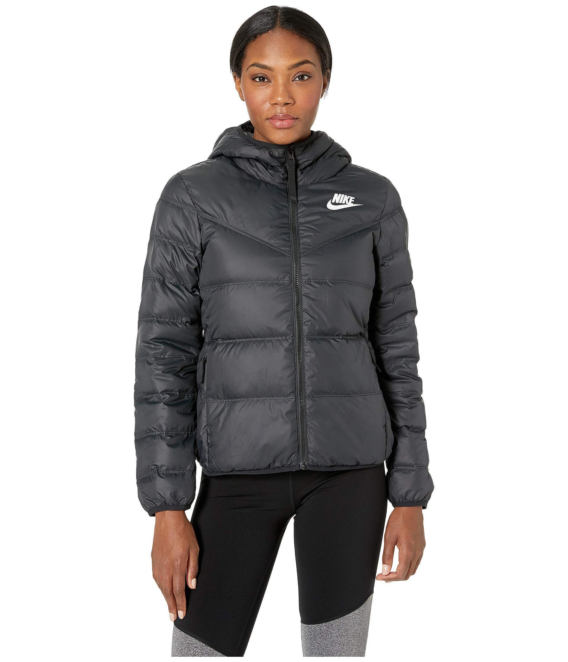 d49aedba Nike Sportswear Windrunner Down Fill Jacket Reversible in Black - Lyst