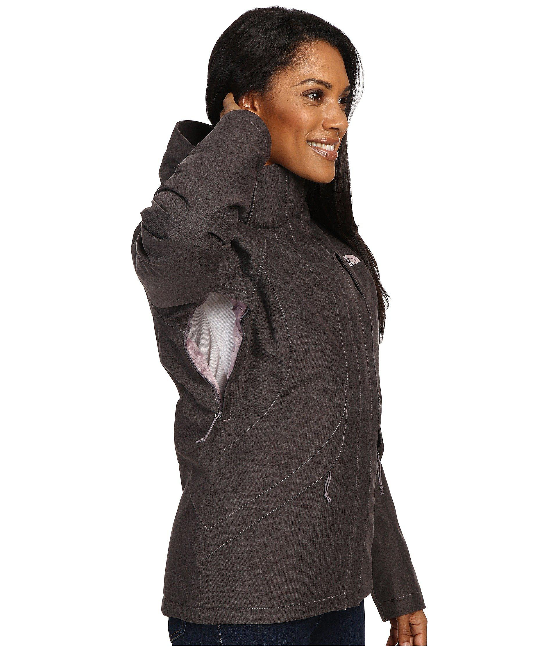 9cd6696ffc13 Lyst - The North Face Inlux Insulated Jacket (asphalt Grey) Women s ...