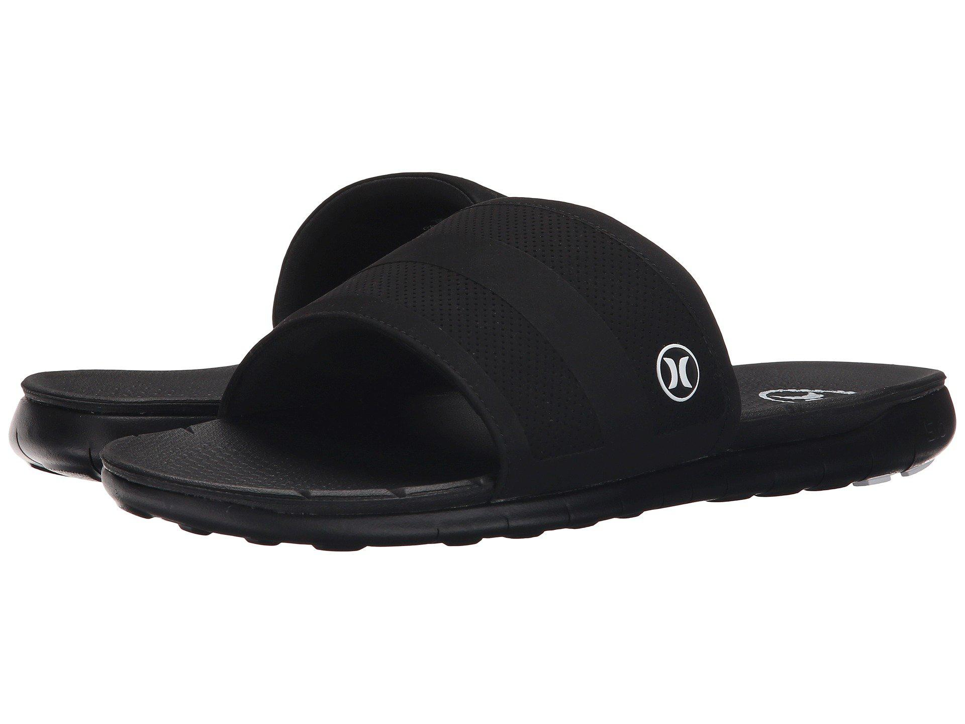 d0b8adff6594 Lyst - Hurley Phantom Free Slide in Black for Men