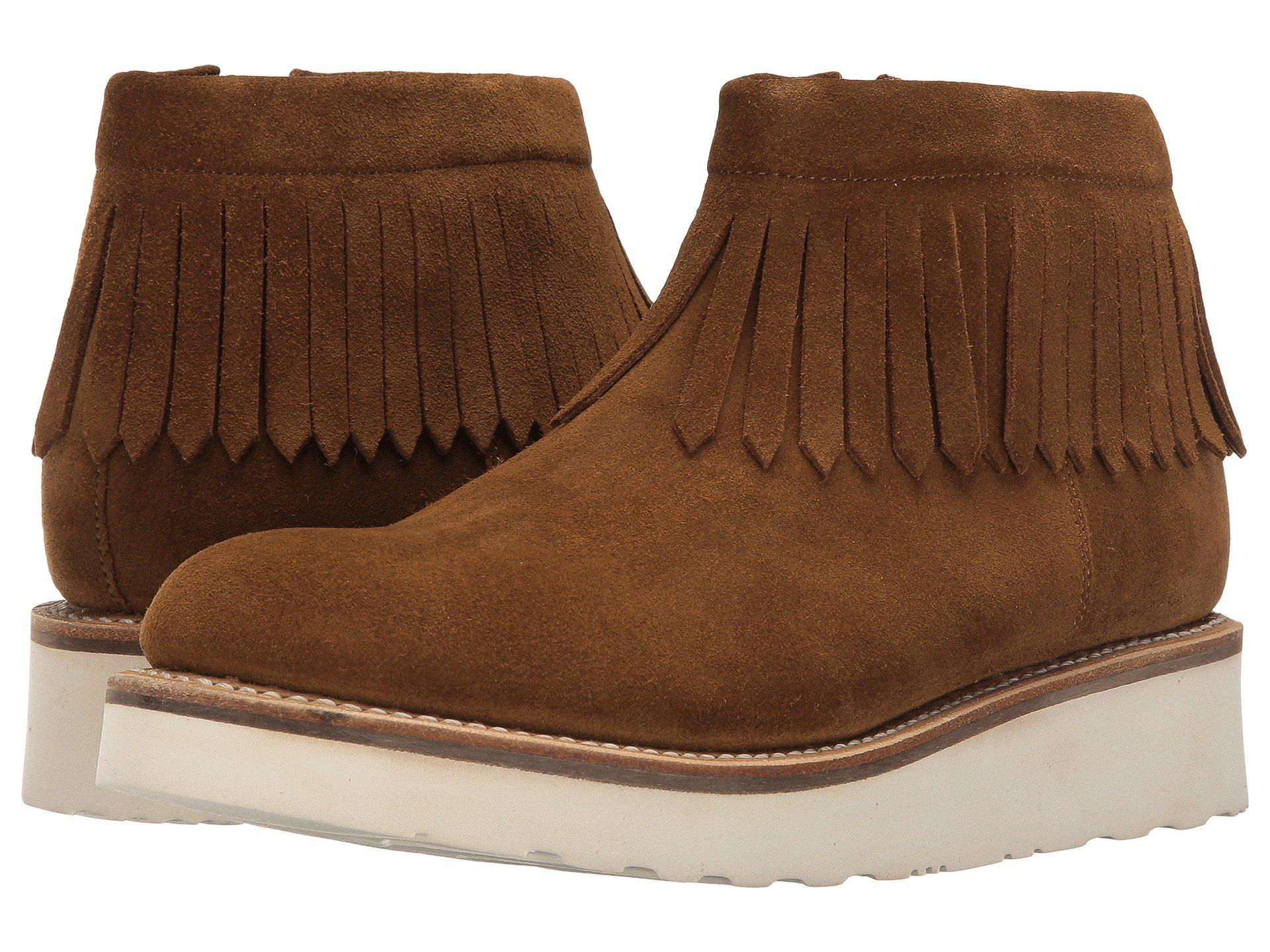 Grenson Women Boots Grenson Trixie Moccasin Boots