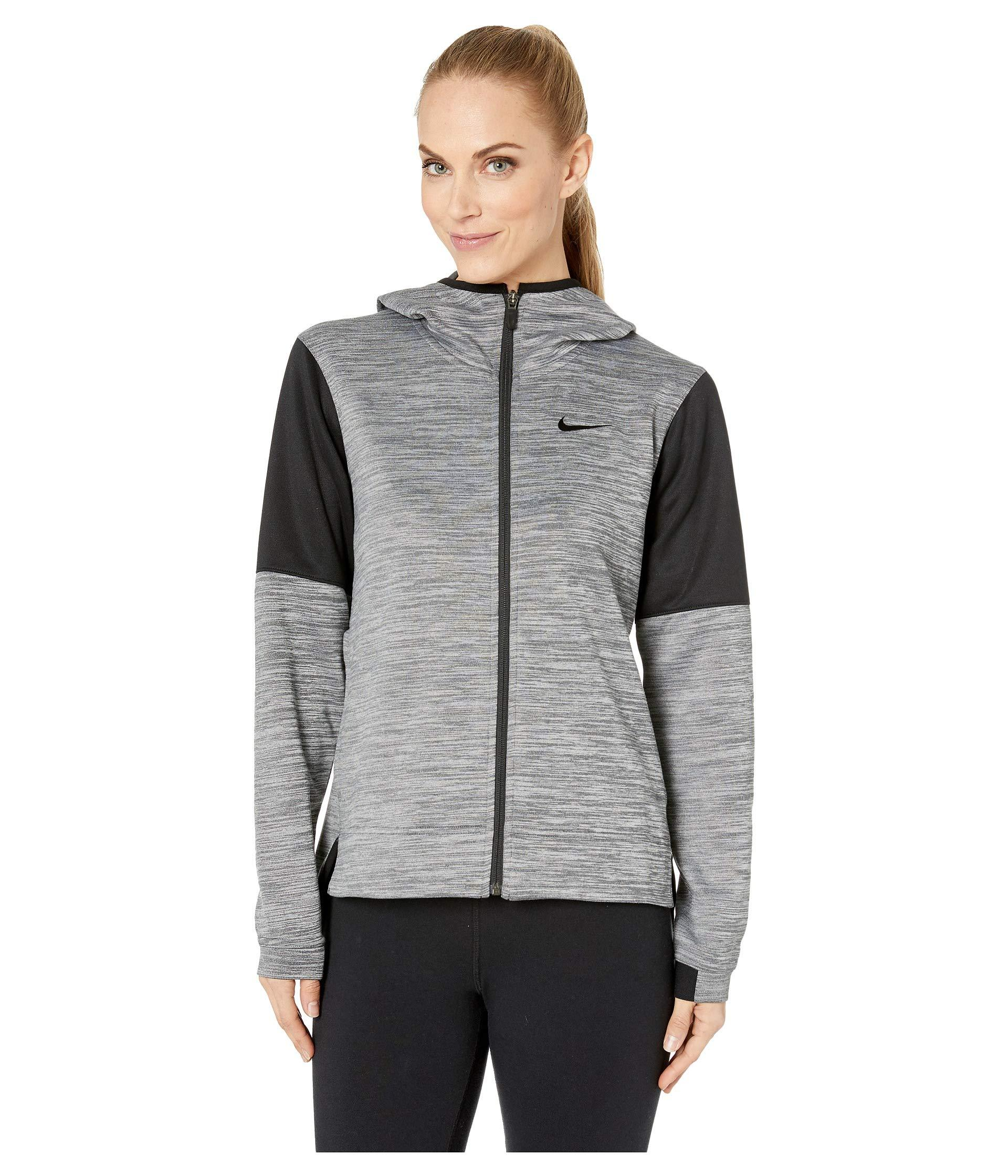 87ec5163e243 Lyst - Nike Spotlight Full Zip Hoodie in Gray